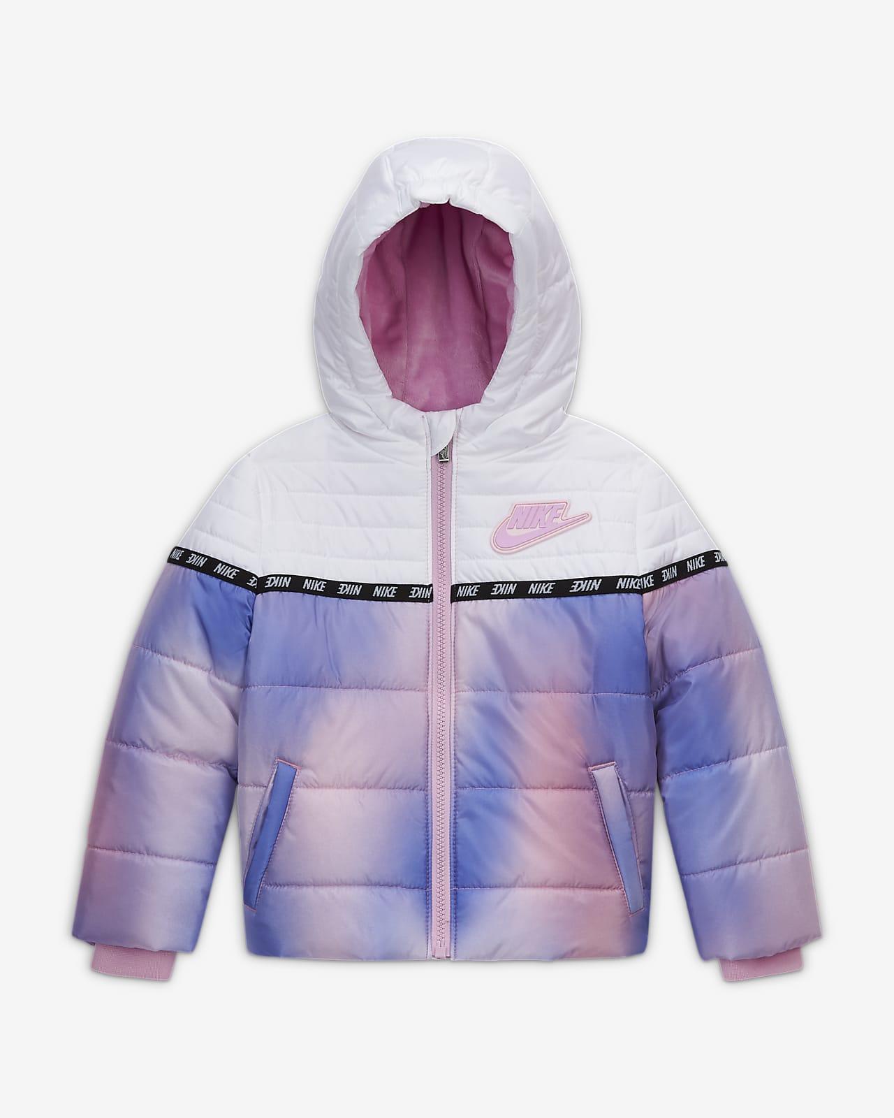 Nike Toddler Color-Block Puffer Jacket