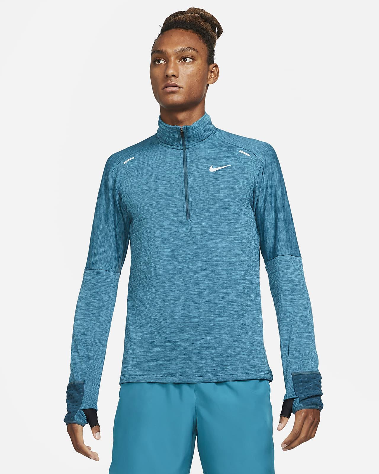 Camiseta de running de medio cierre para hombre Nike Sphere