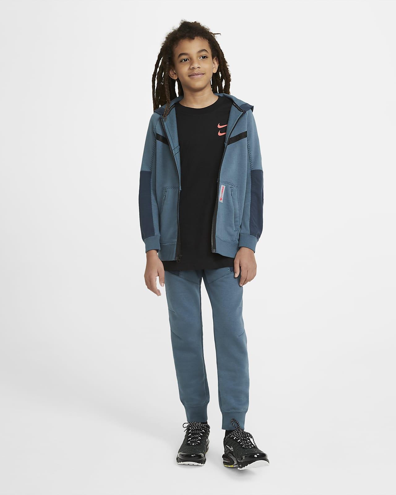 Nike Sportswear Air Max Fleece Hoodie mit durchgehendem Reißverschluss für ältere Kinder (Jungen)