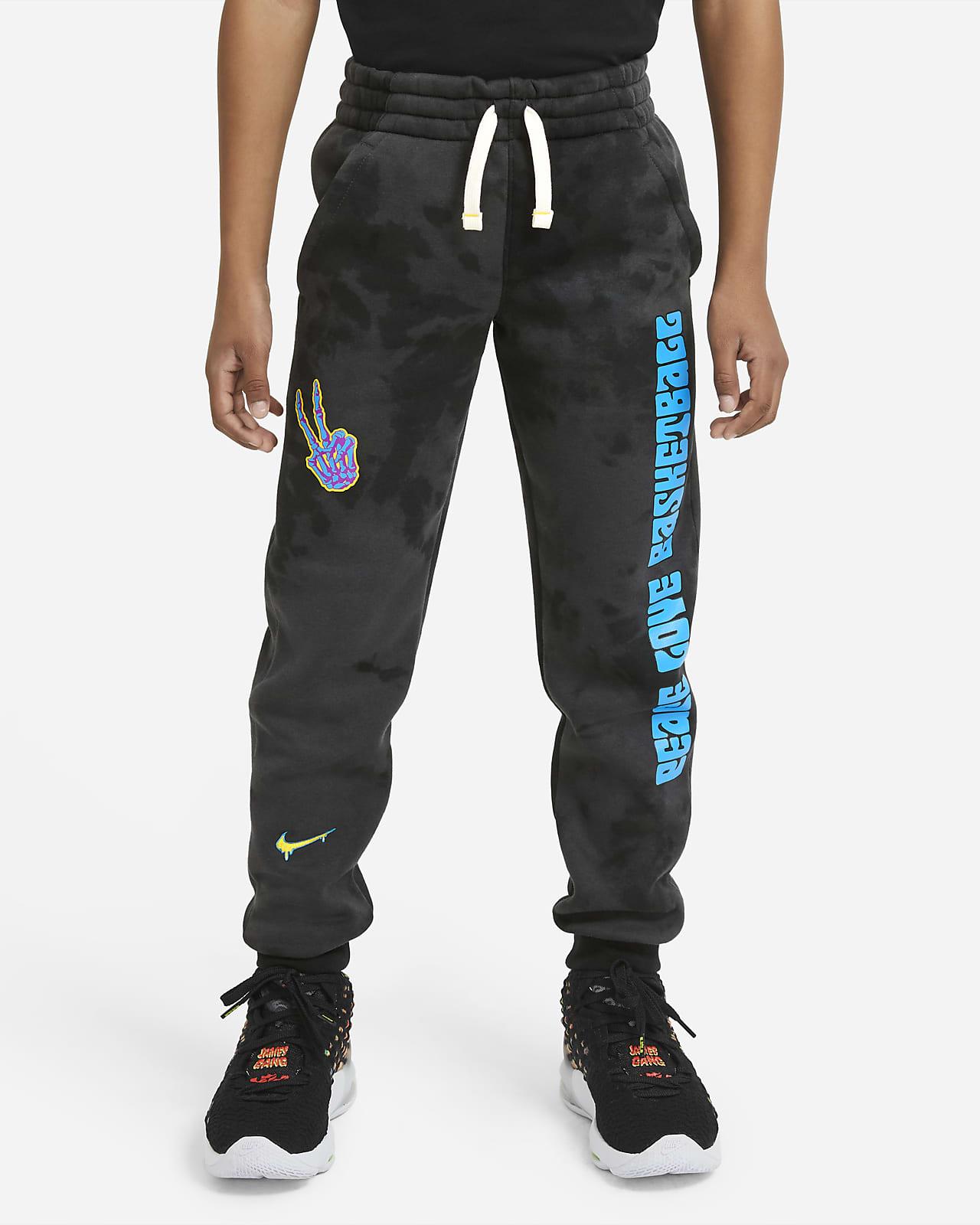 Pantalones de entrenamiento para niños talla grande Nike Club Fleece
