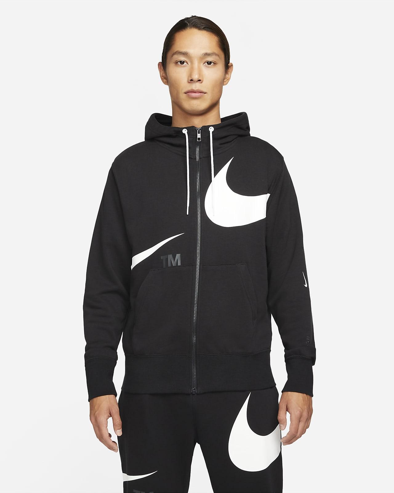 Nike Sportswear Swoosh Men's Full-Zip French Terry Hoodie