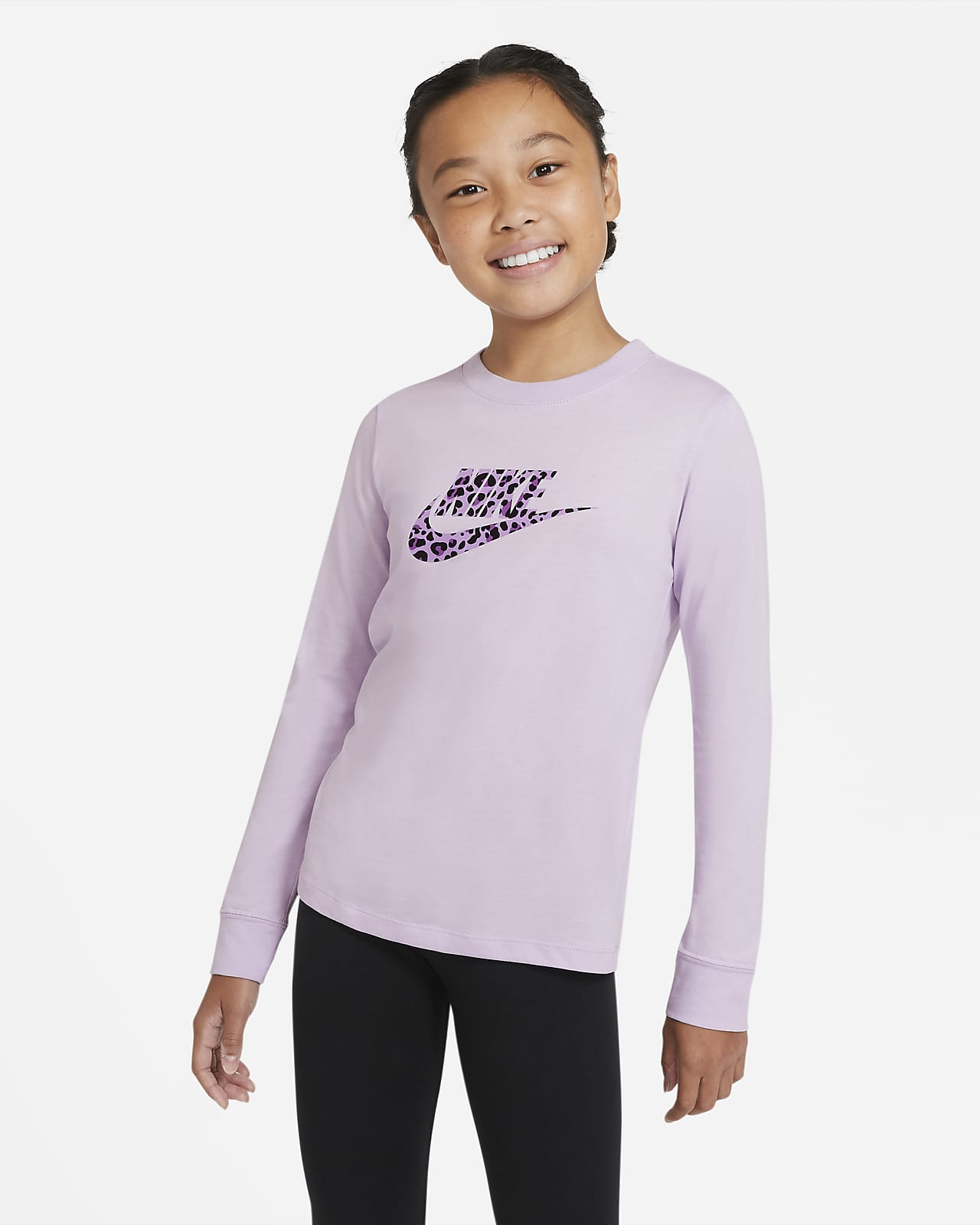 Nike Sportswear Langarm-T-Shirt für ältere Kinder (Mädchen)