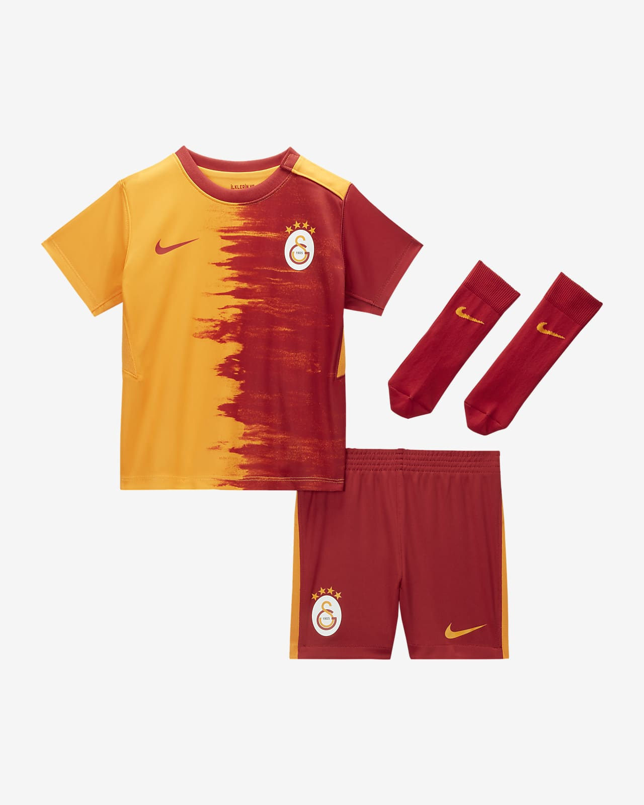 Galatasaray 2020/21 Home Baby/Toddler Football Kit