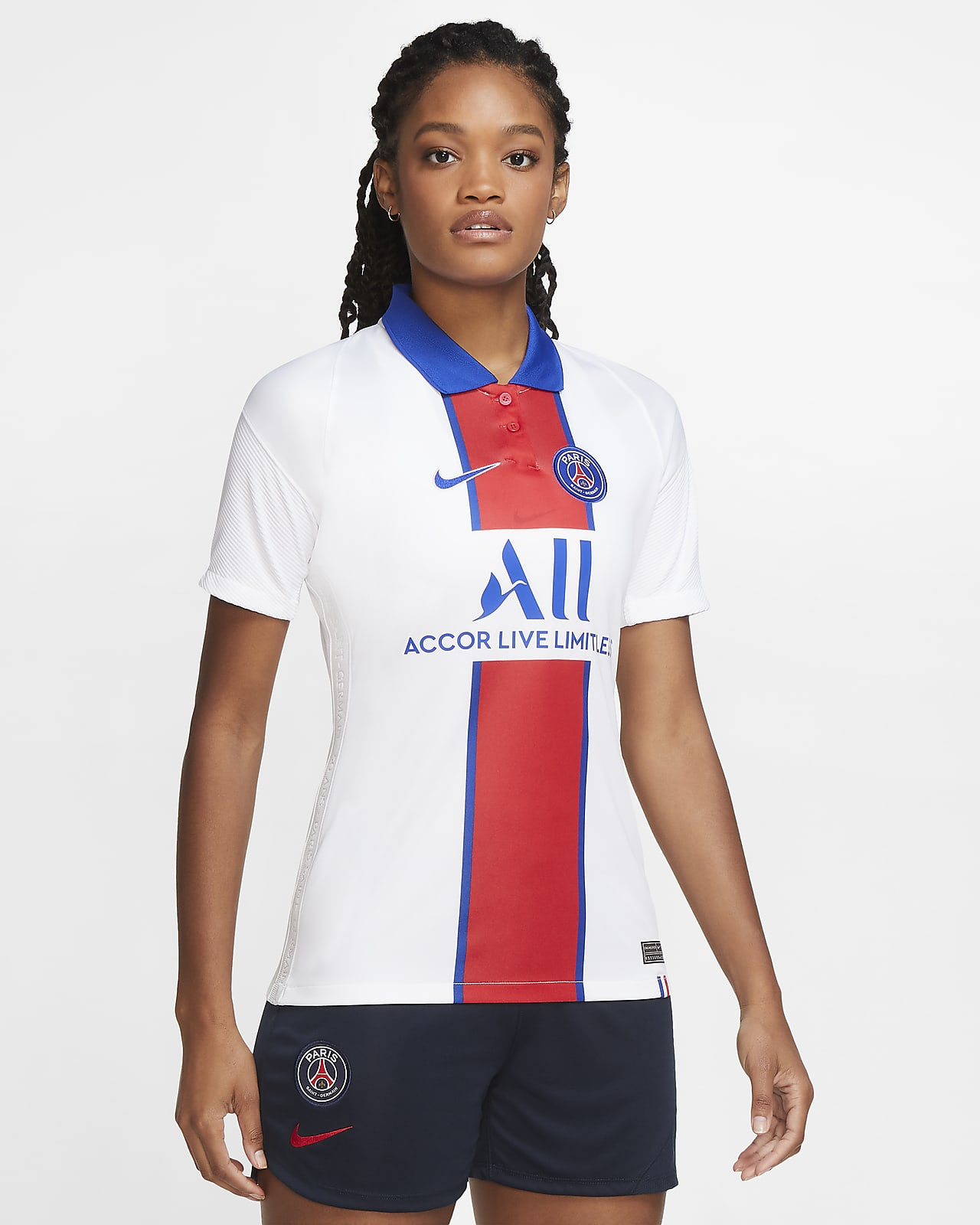 Maillot de football Paris Saint-Germain 2020/21 Stadium Extérieur pour Femme