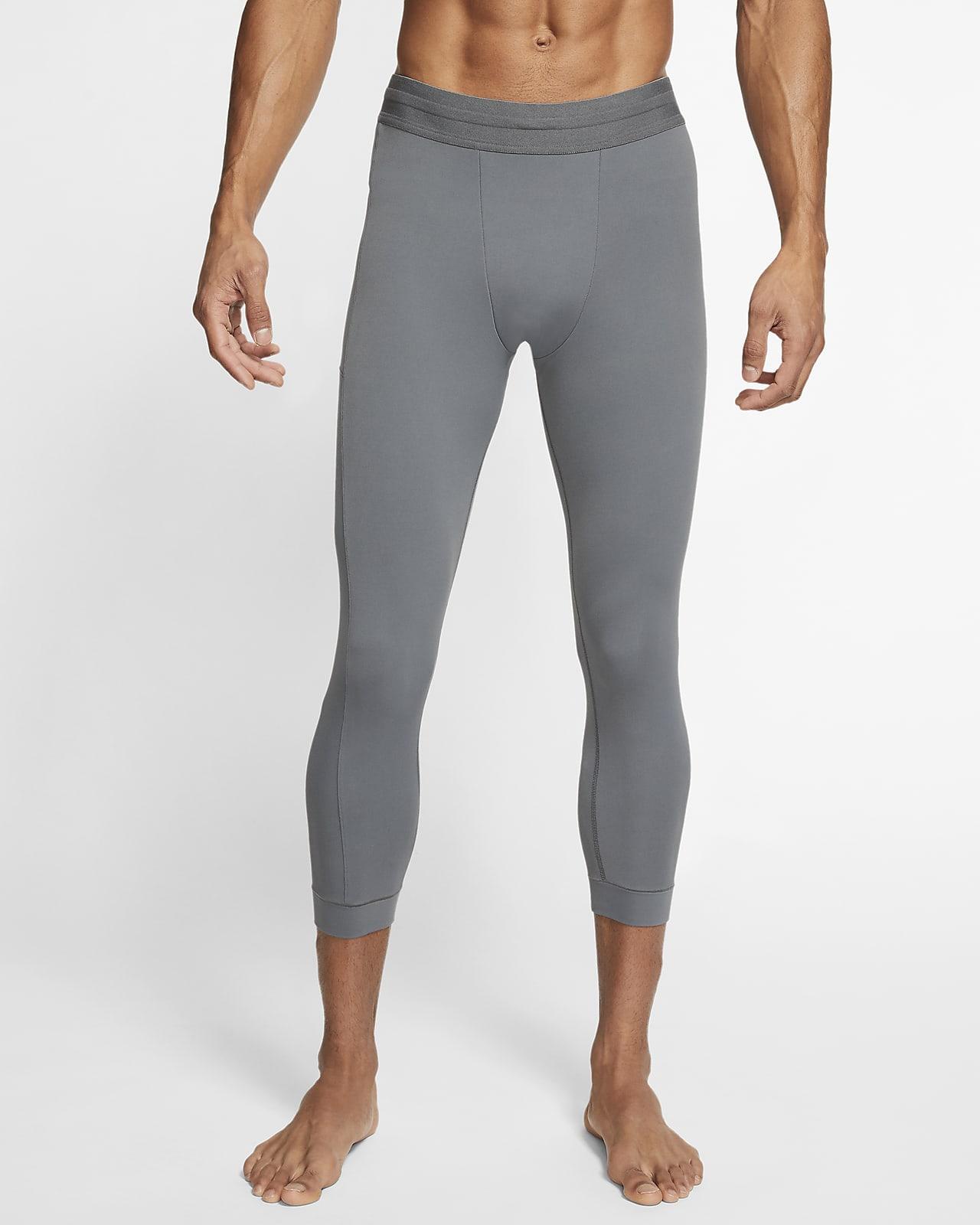 Nike Yoga Dri-FIT-Infinalon-tights i 3/4-længde til mænd