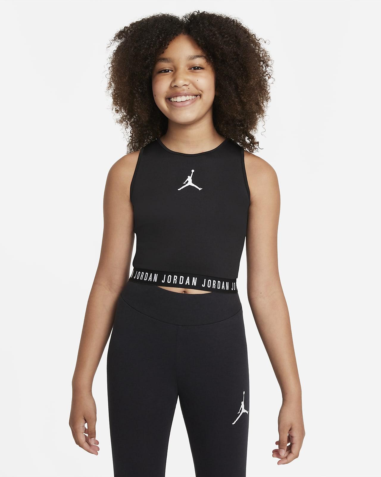 Camiseta de tirantes para niña talla grande Jordan