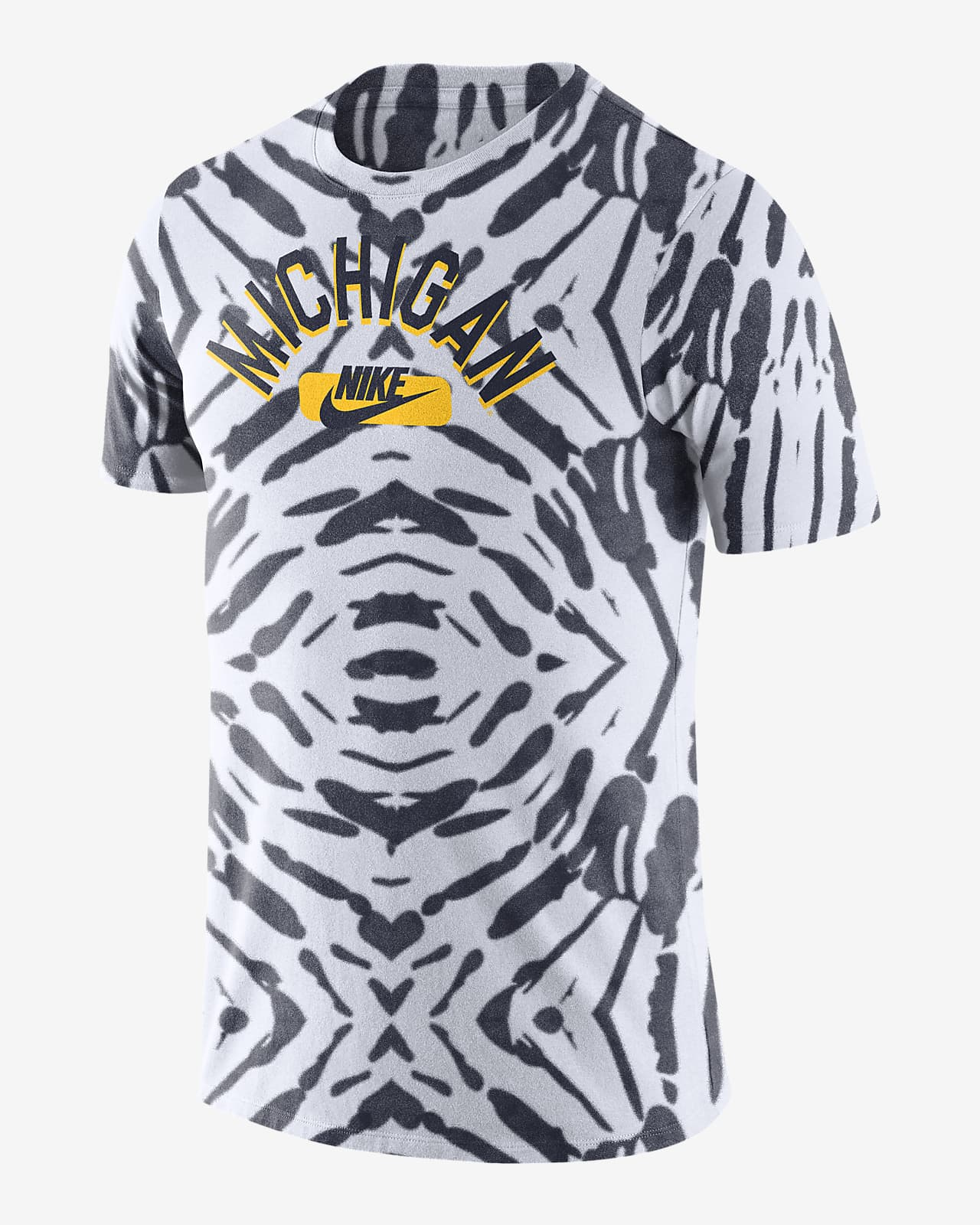 Nike College (Michigan) Men's Printed T-Shirt