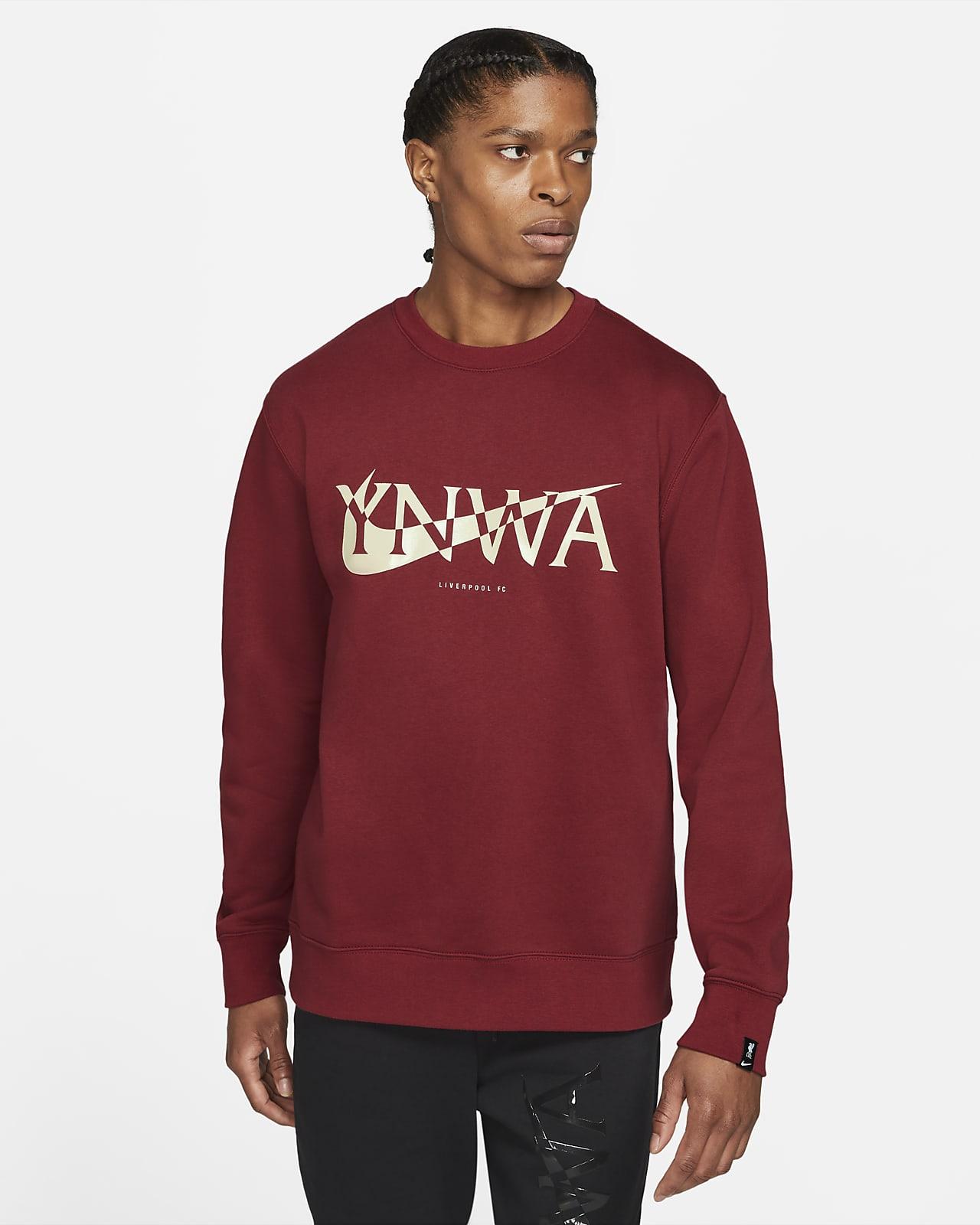 Liverpool F.C. Men's Fleece Crew Sweatshirt