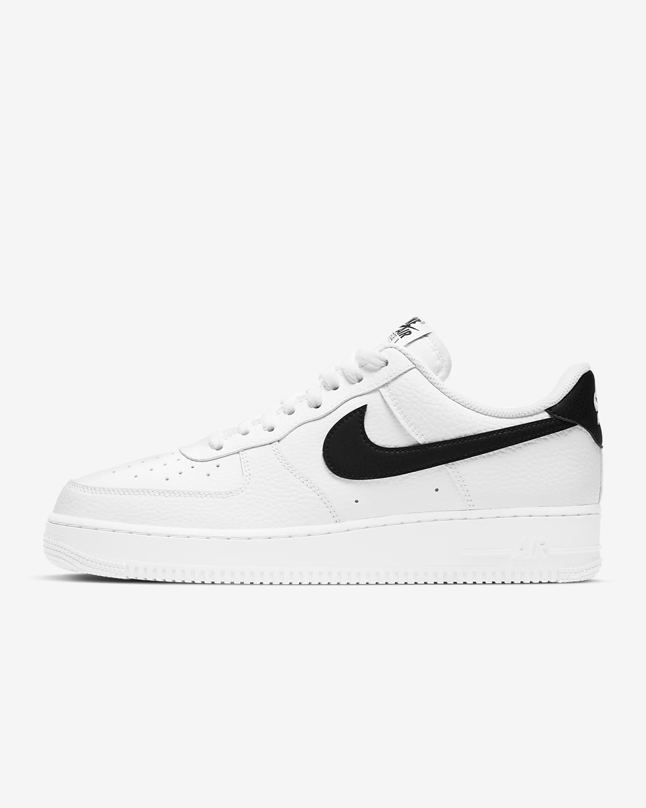 air force 1 nere uomo