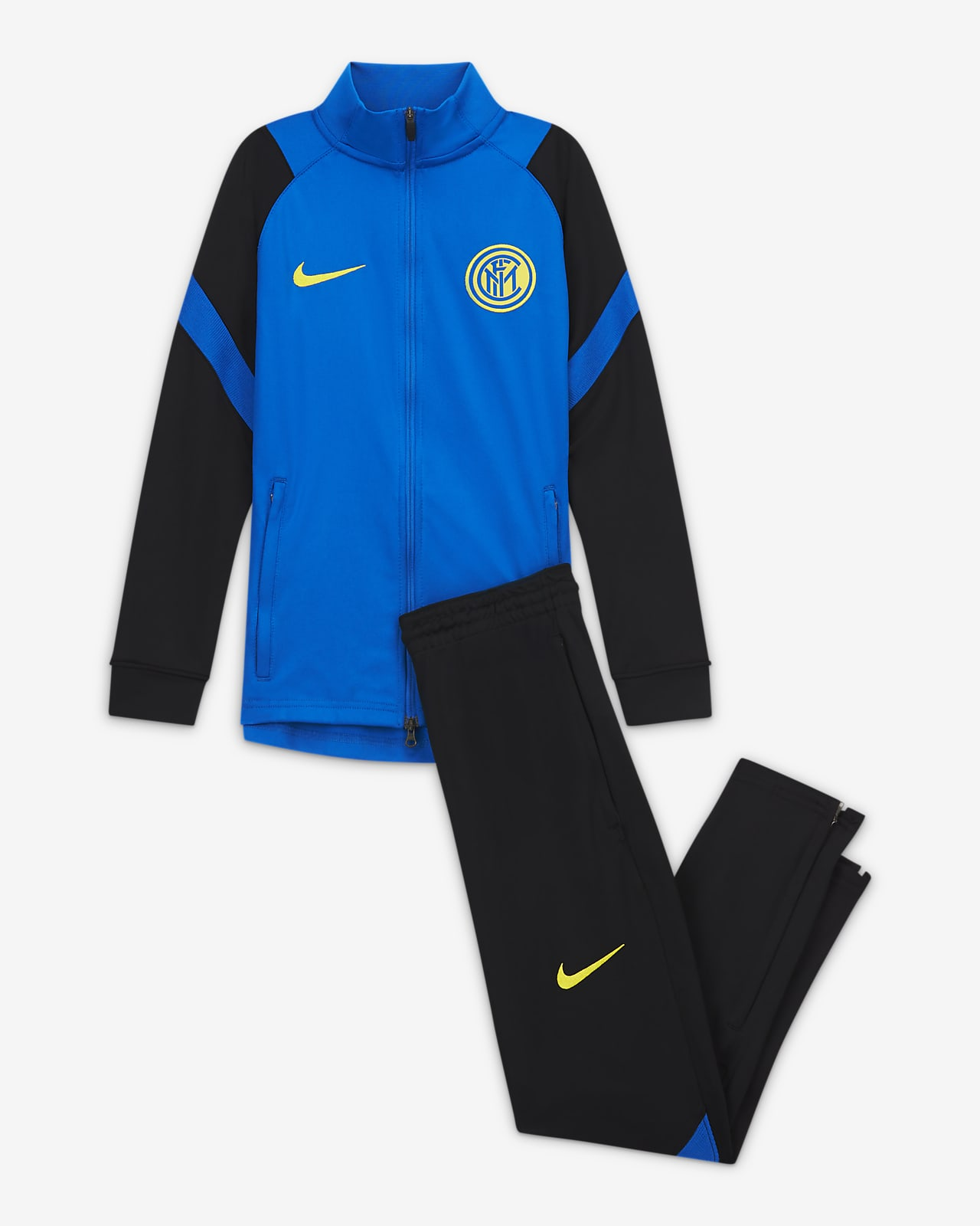 Inter Milan Strike Knit voetbaltrainingspak voor kids