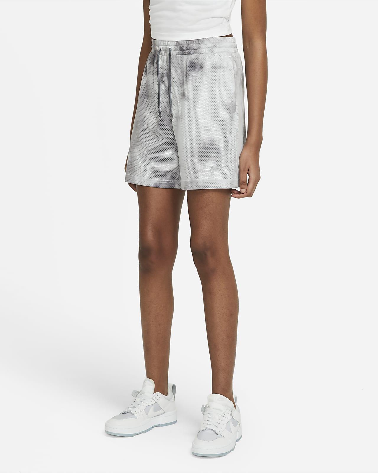 กางเกงขาสั้นผู้หญิง Nike Sportswear Icon Clash