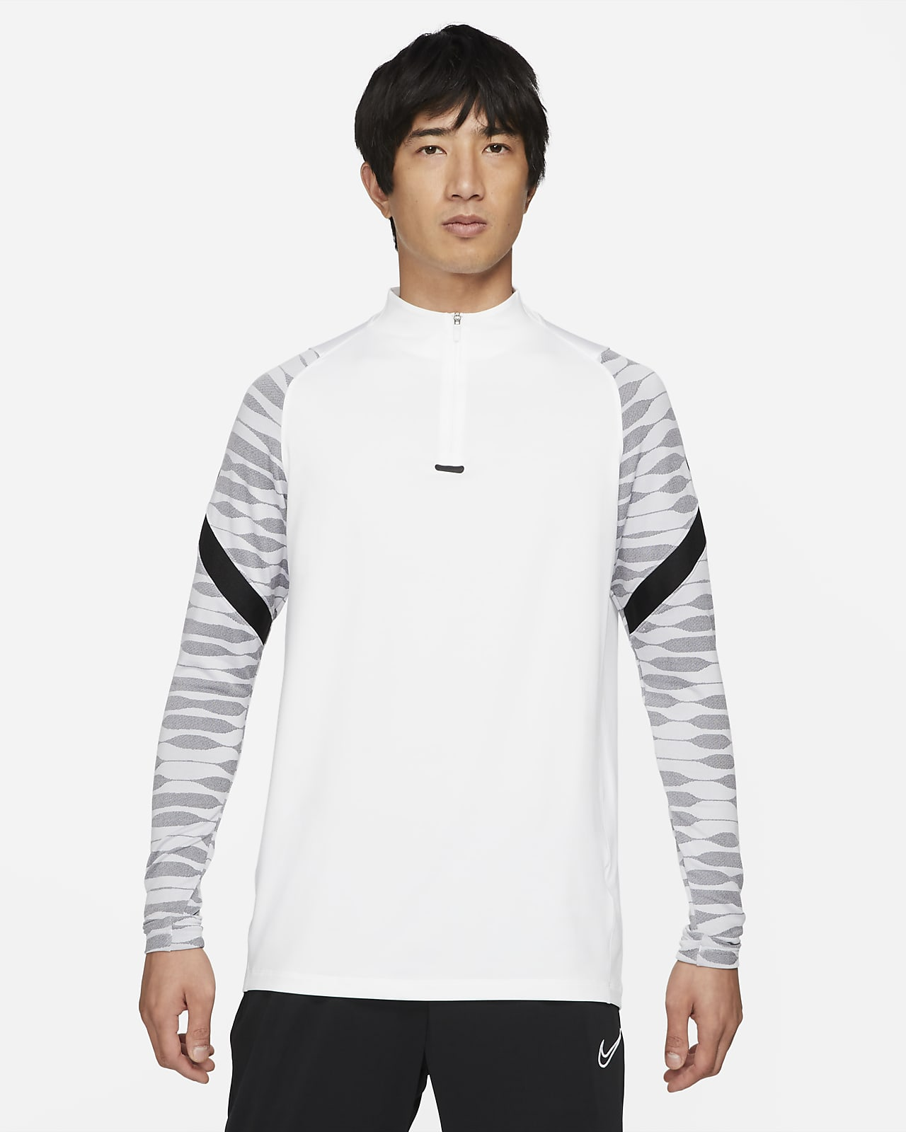 Maglia da calcio per allenamento con zip a 1/4 Nike Dri-FIT Strike - Uomo
