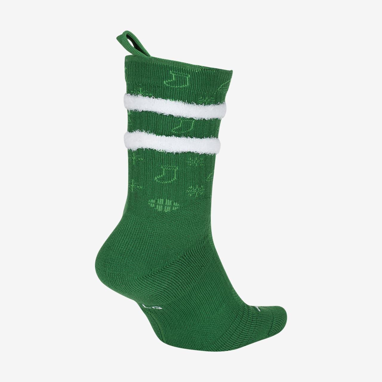 """Calcetines de básquetbol Nike Elite Crew """"Xmas"""" (Navidad)"""