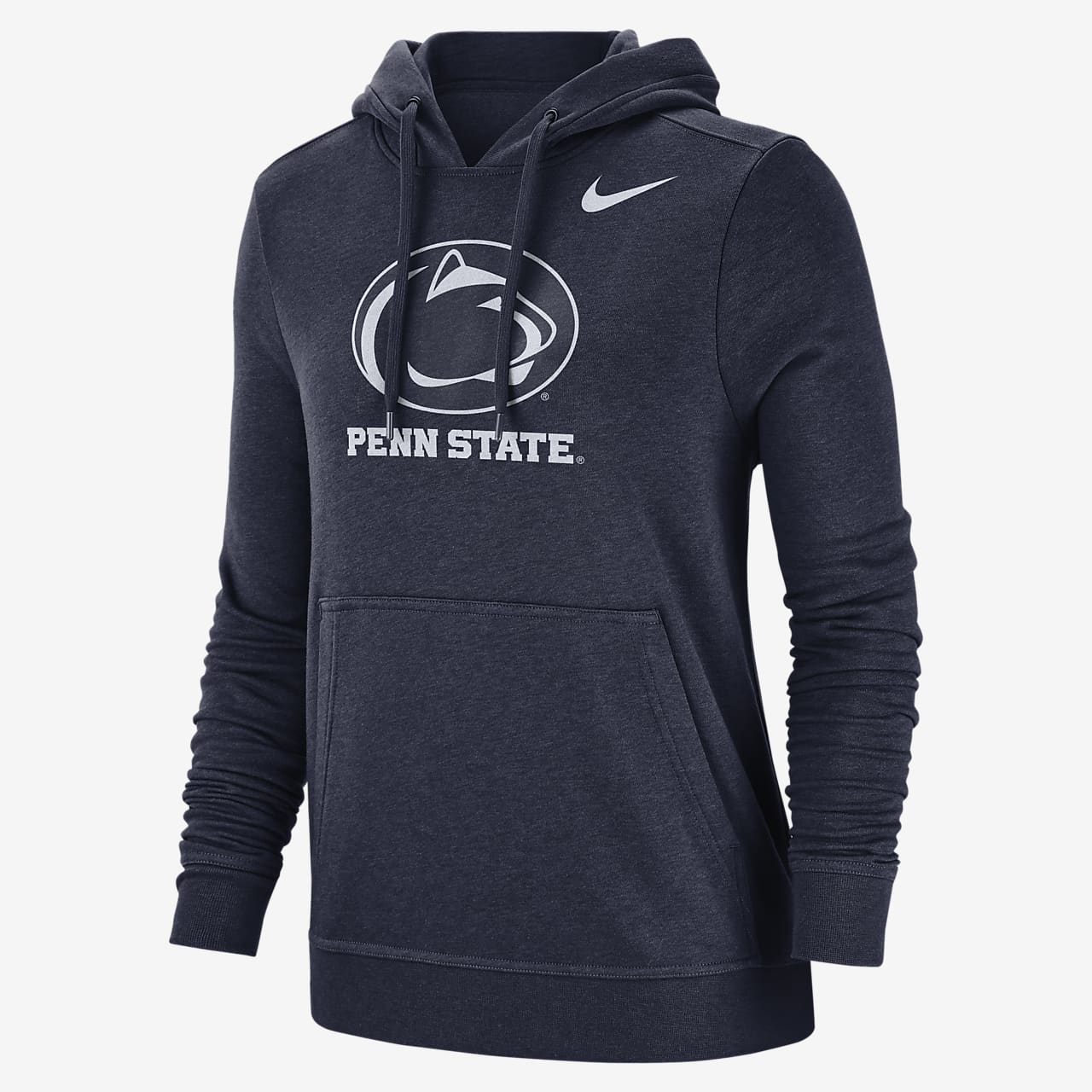 Nike College Club Fleece (Penn State) Women's Pullover Hoodie