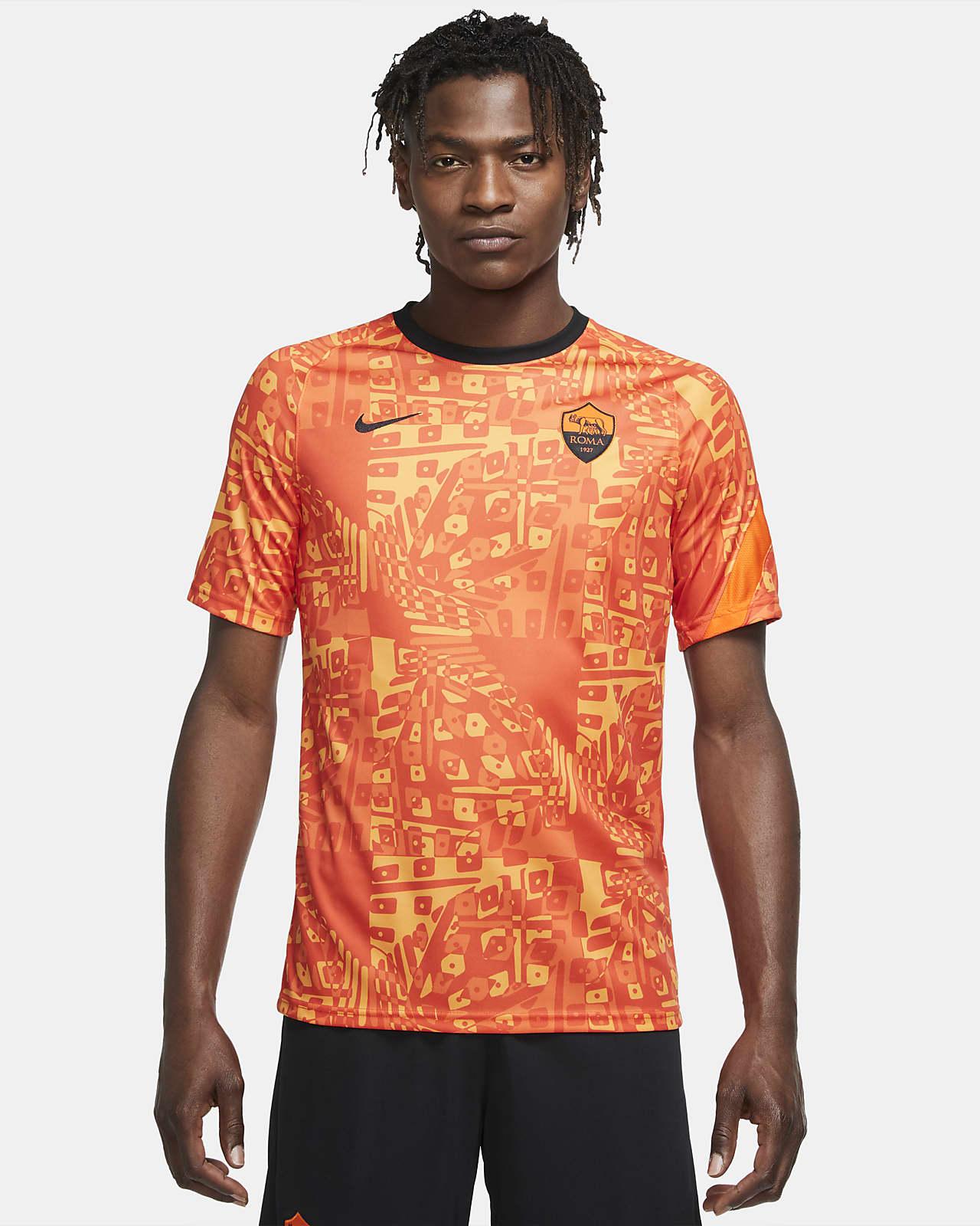Maglia da calcio pre-partita a manica corta A.S. Roma - Uomo. Nike IT