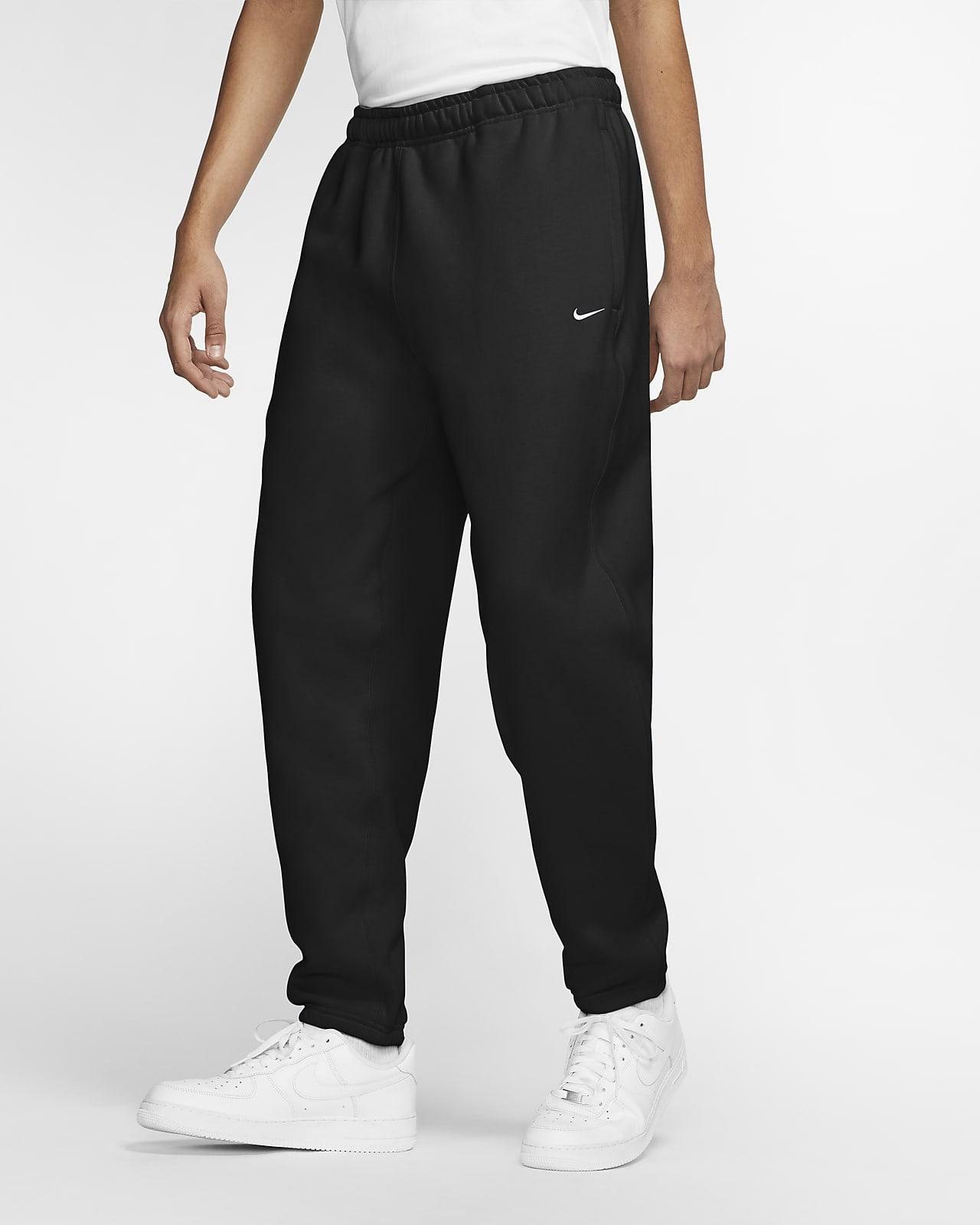 กางเกงฟลีซขายาวผู้ชาย Nike Solo Swoosh
