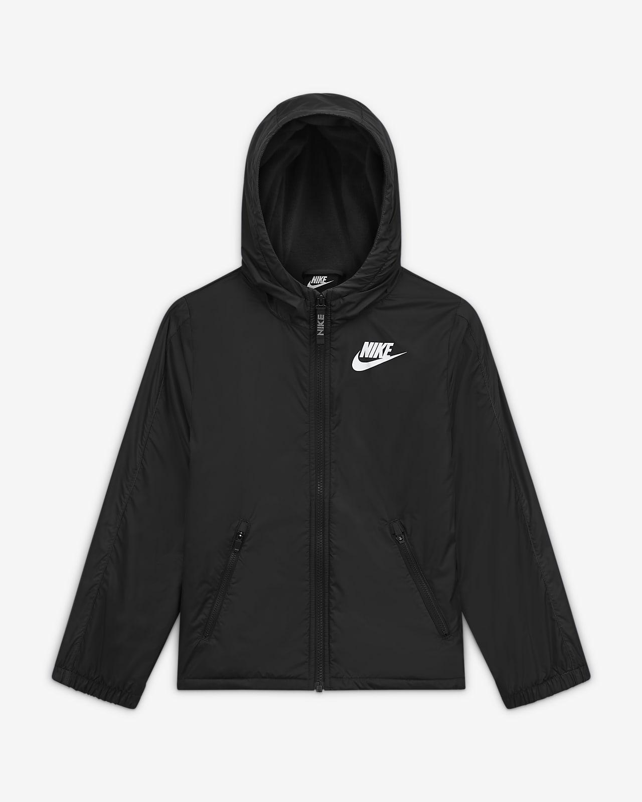 Nike Sportswear Fleece-gefütterte Jacke für ältere Kinder