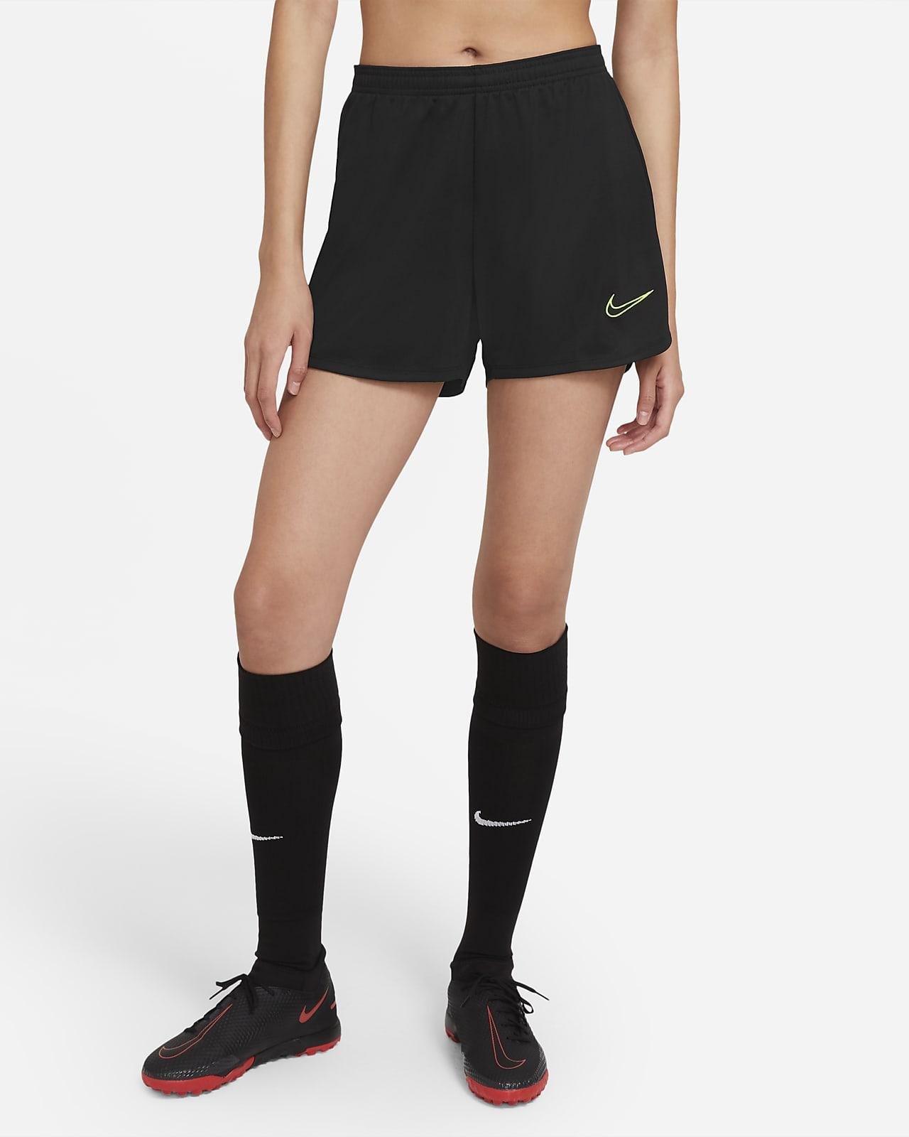 Shorts de fútbol tejidos para mujer Nike Dri-FIT Academy