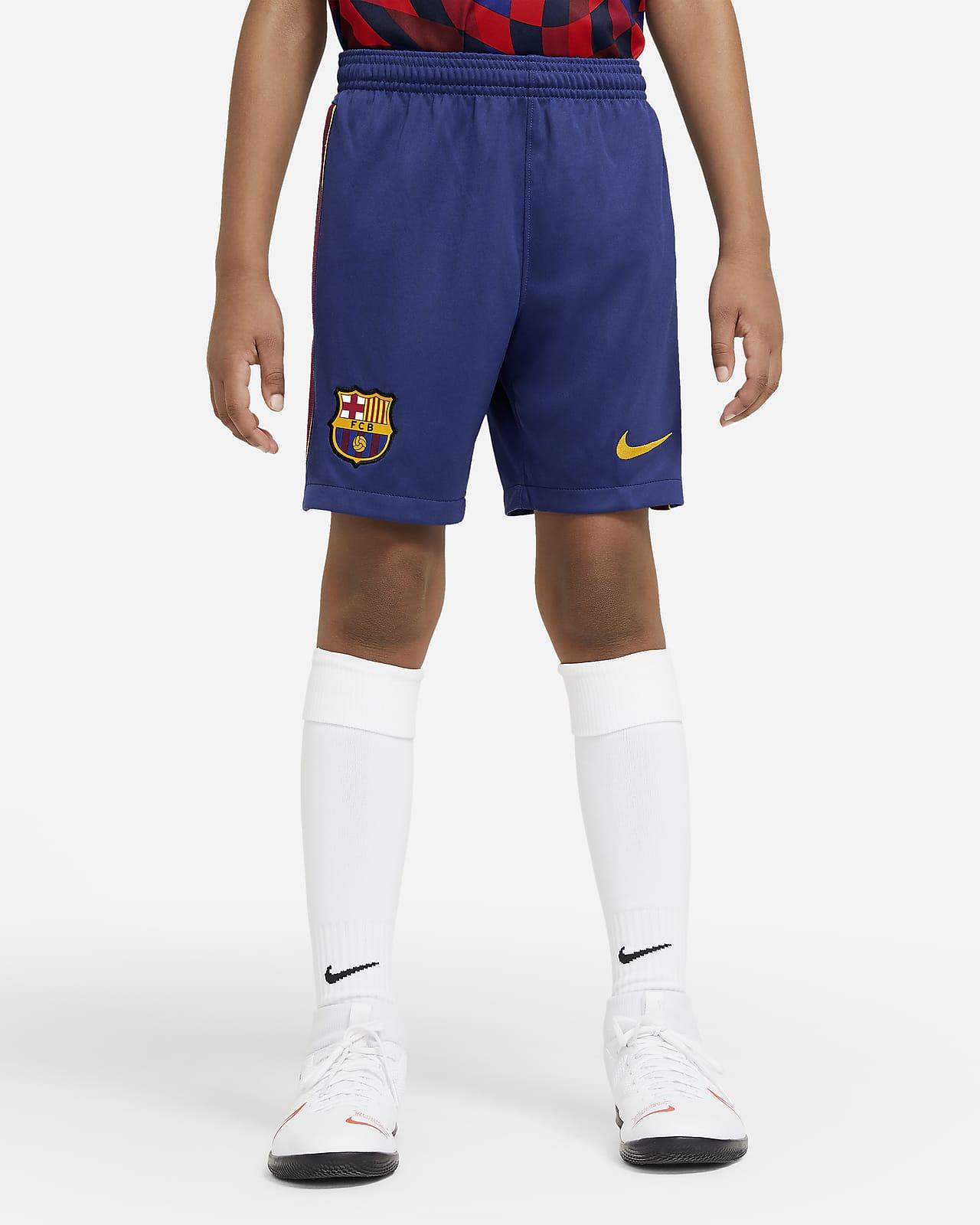 2020/21 赛季巴萨主客场球迷版大童足球短裤