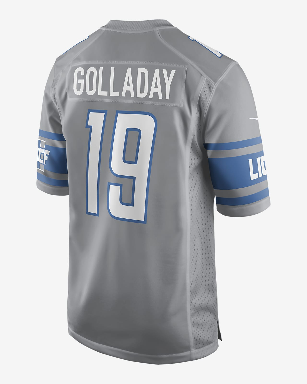 NFL Detroit Lions (Kenny Golladay) Men's Game Football Jersey