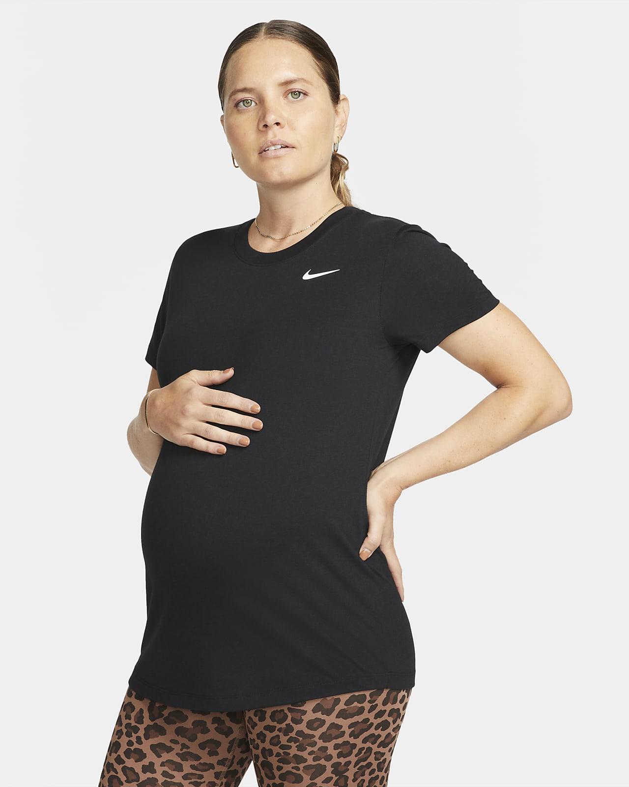 T-shirt per la maternità Nike Dri-FIT (M) - Donna