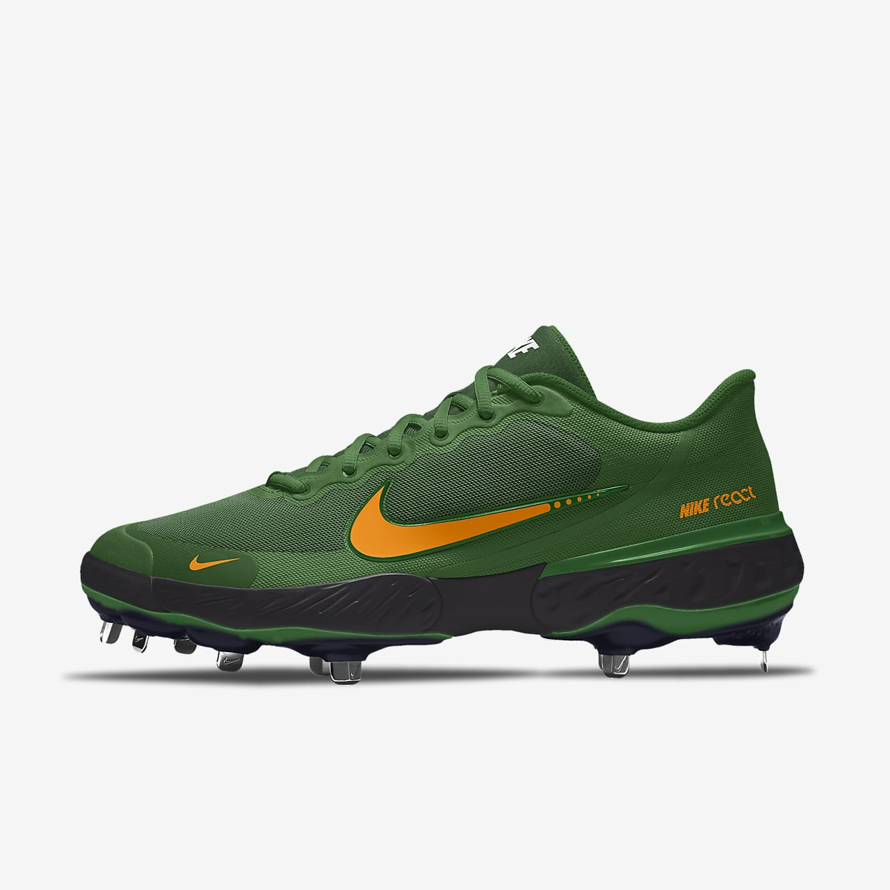 Nike Alpha Huarache Elite 3 Low By You personalisierbarer Baseballschuh