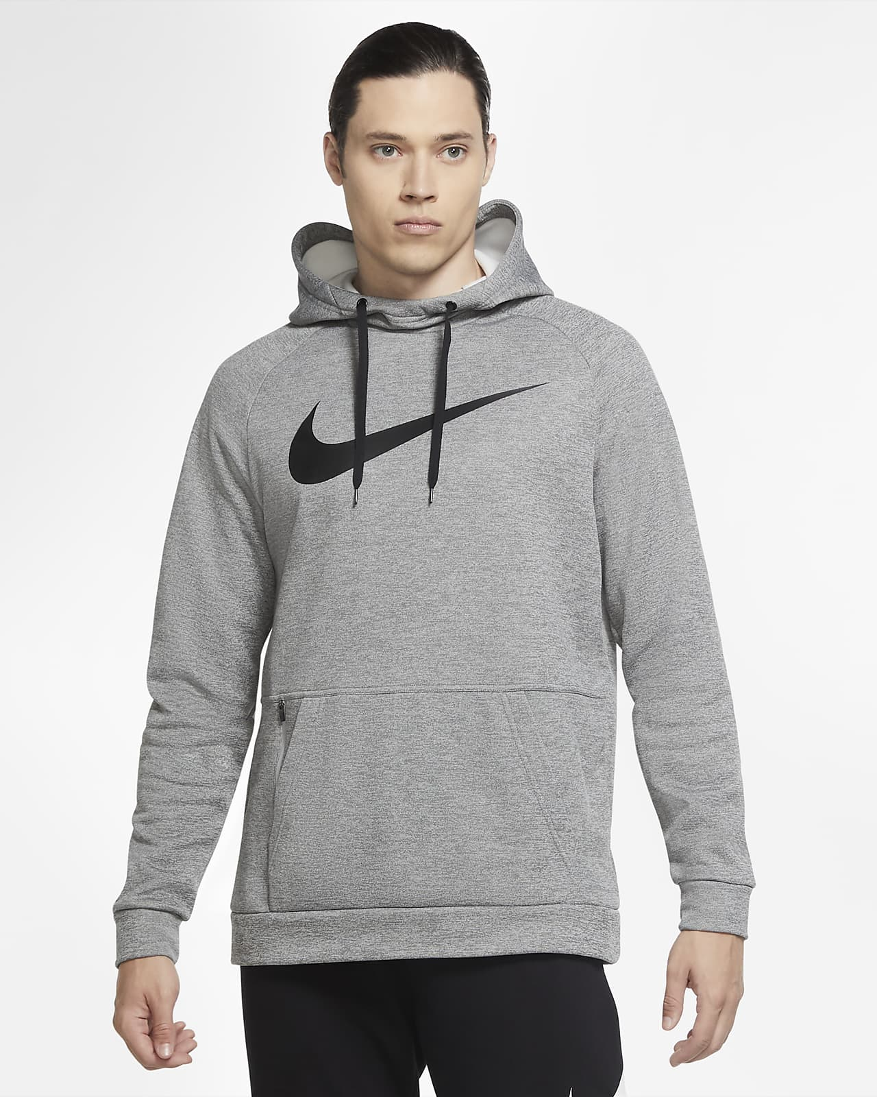 Sudadera con capucha de entrenamiento sin cierre con Swoosh para hombre Nike Therma