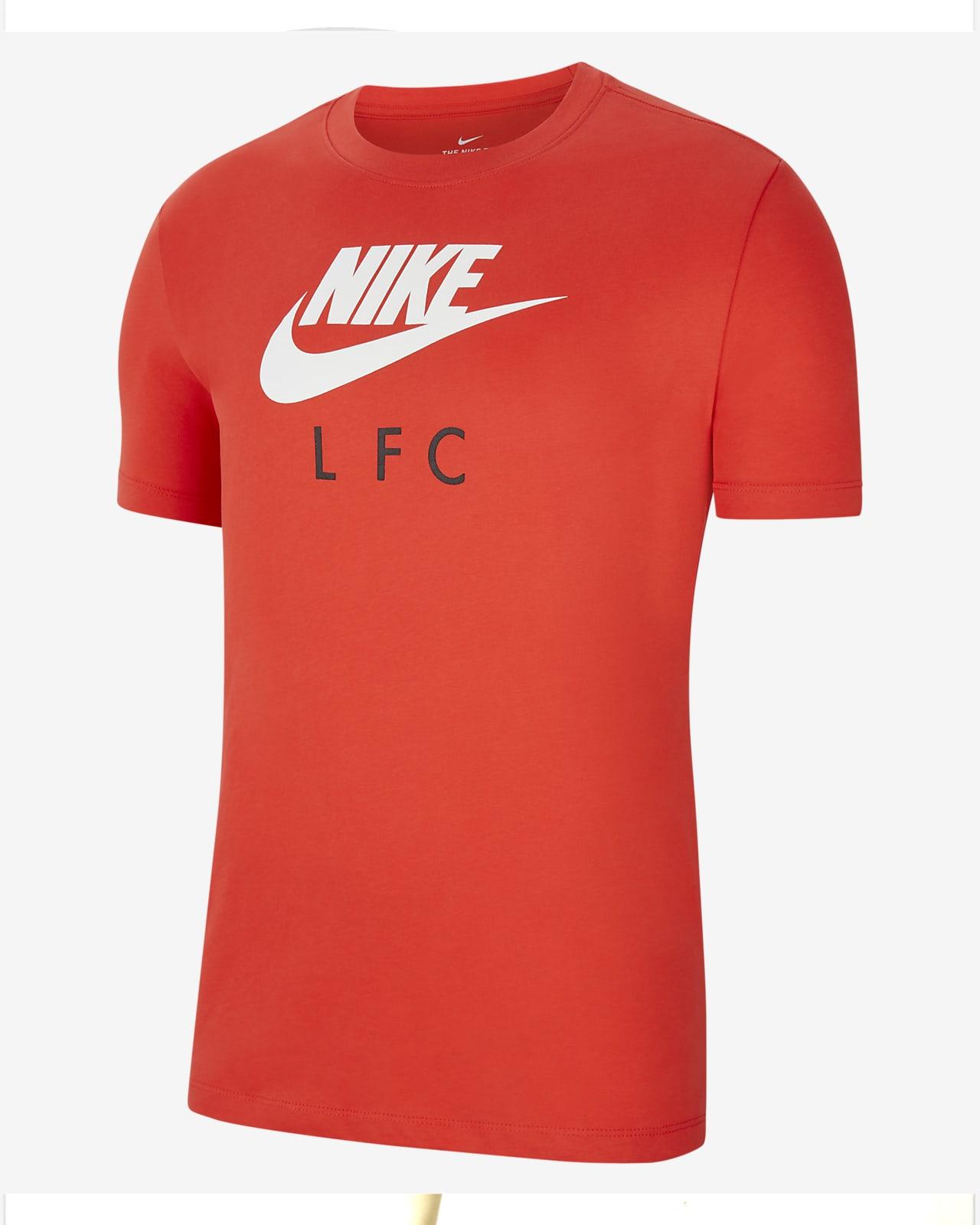 Liverpool FC-fodbold-T-shirt til mænd