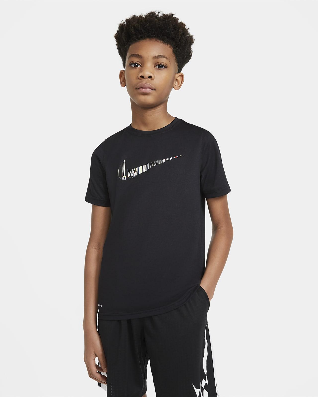 Playera para niño talla grande Nike Dri-FIT