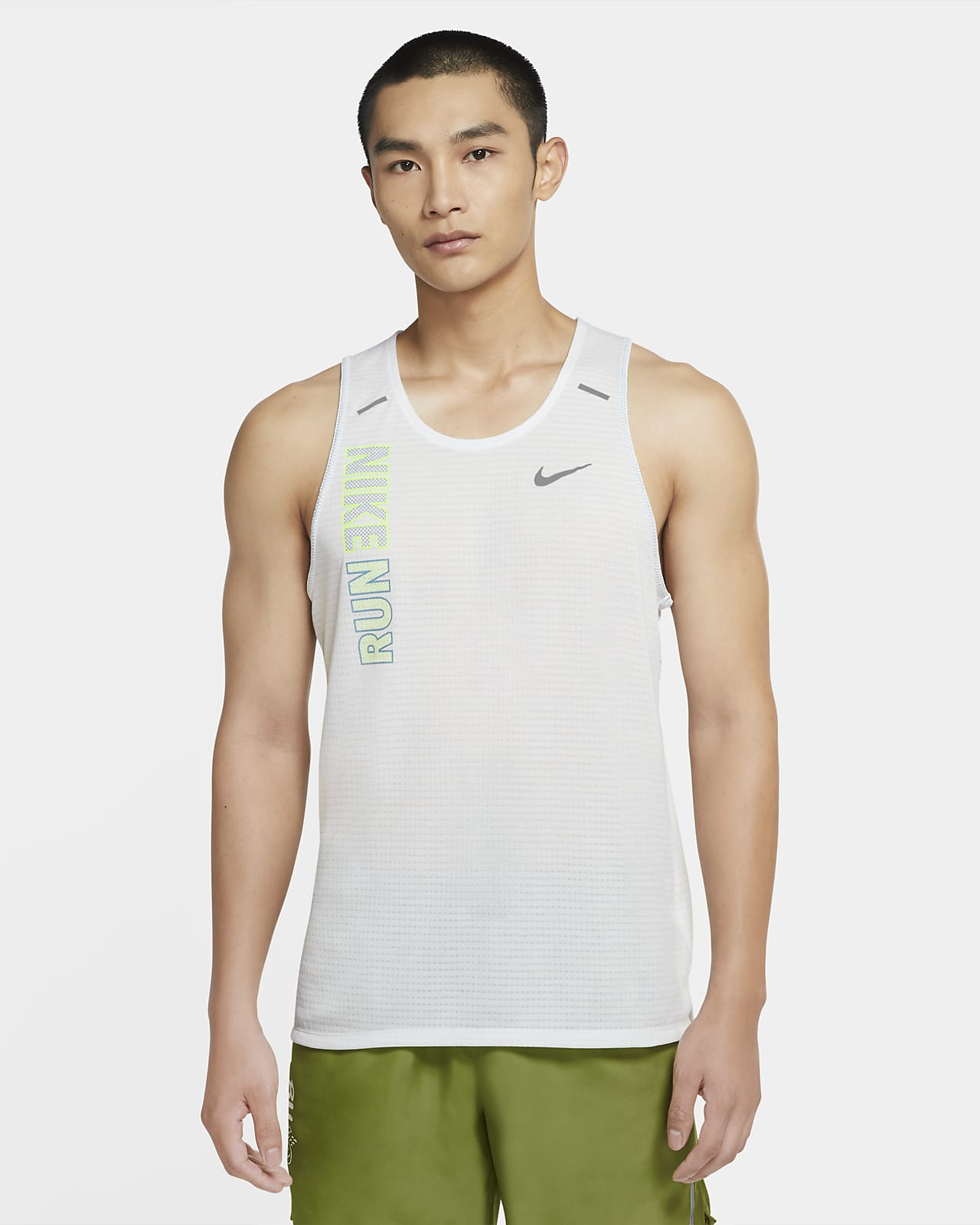 Camiseta de tirantes de running para hombre Nike Rise 365 Wild Run