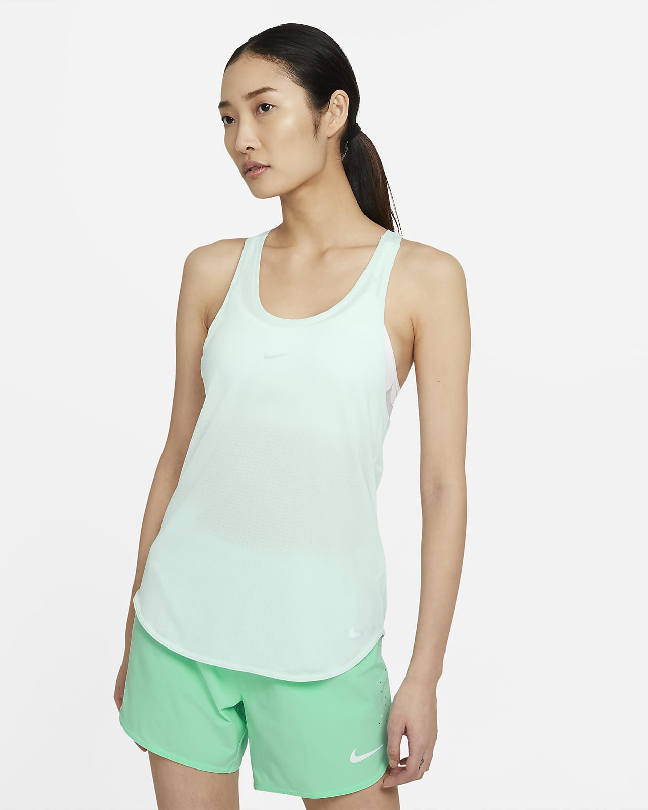 Camiseta de tirantes de running para mujer Nike Breathe Cool
