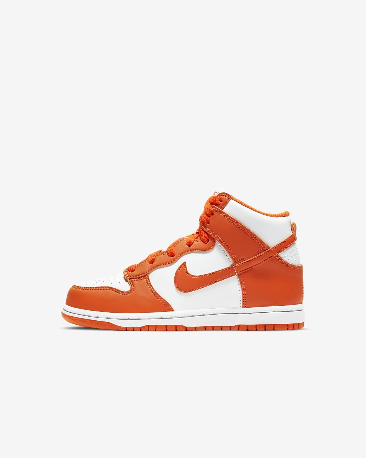 Calzado para niños de talla pequeña Nike Dunk High