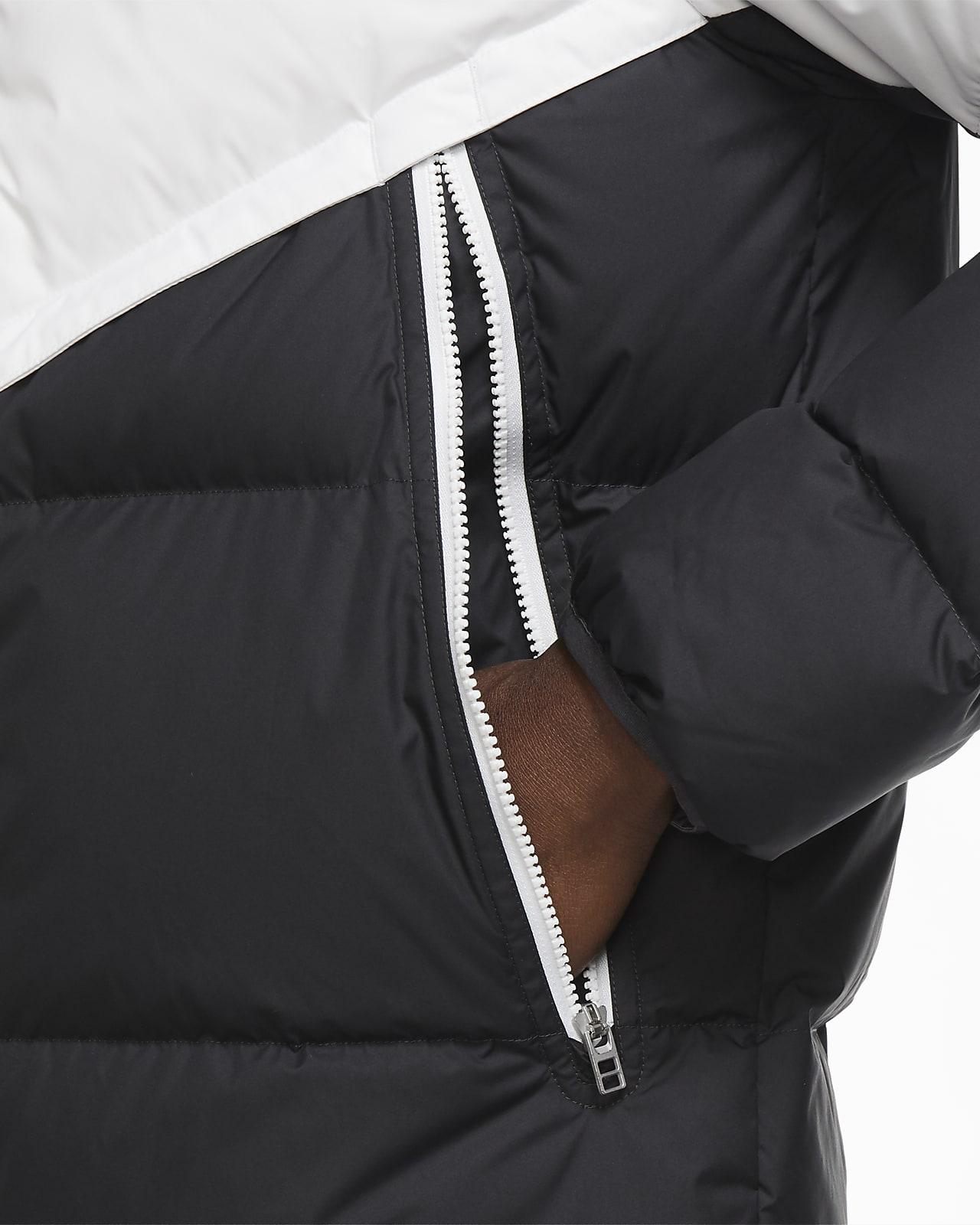 Nike Sportswear Jacket Down Fill BlackDark Grey
