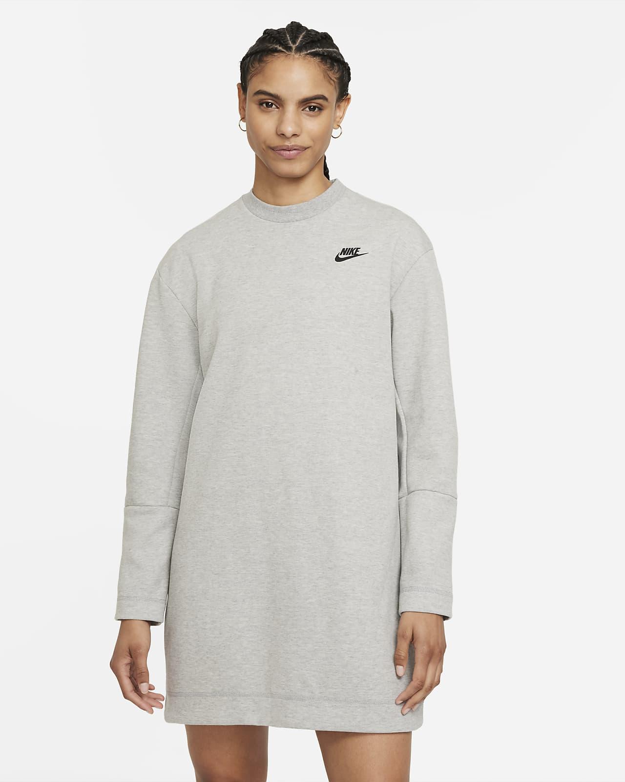 Γυναικείο μακρυμάνικο φόρεμα Nike Sportswear Tech Fleece