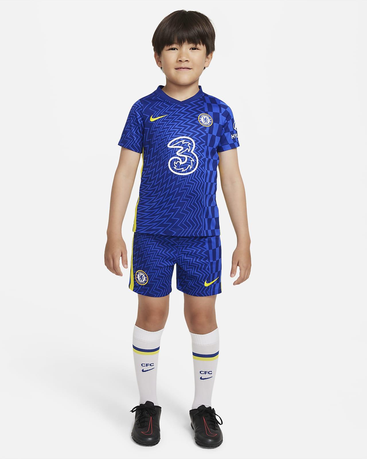 Divisa da calcio Chelsea FC 2021/22 per bambini - Home