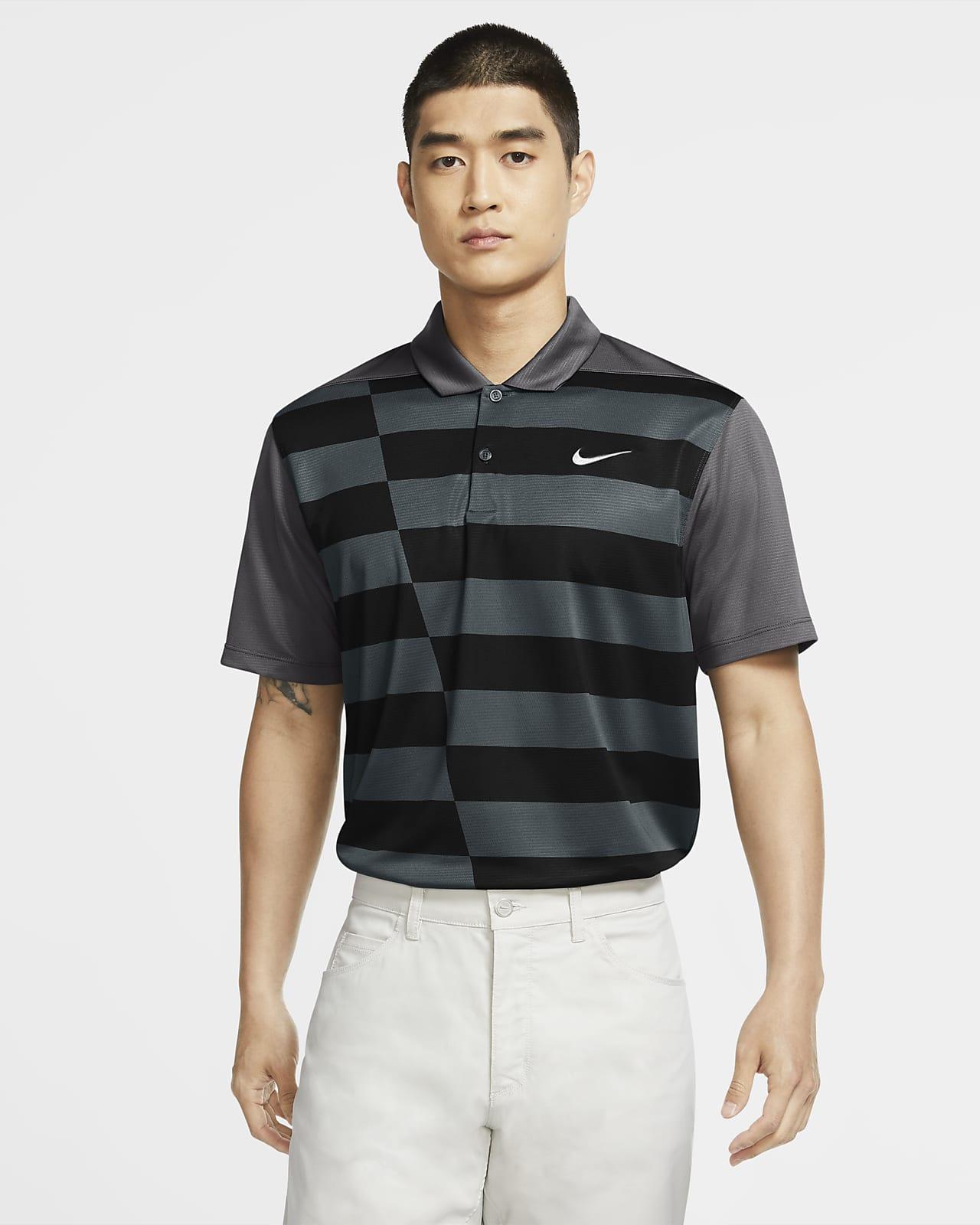 Polo de golfe com grafismo Nike Dri-FIT para homem