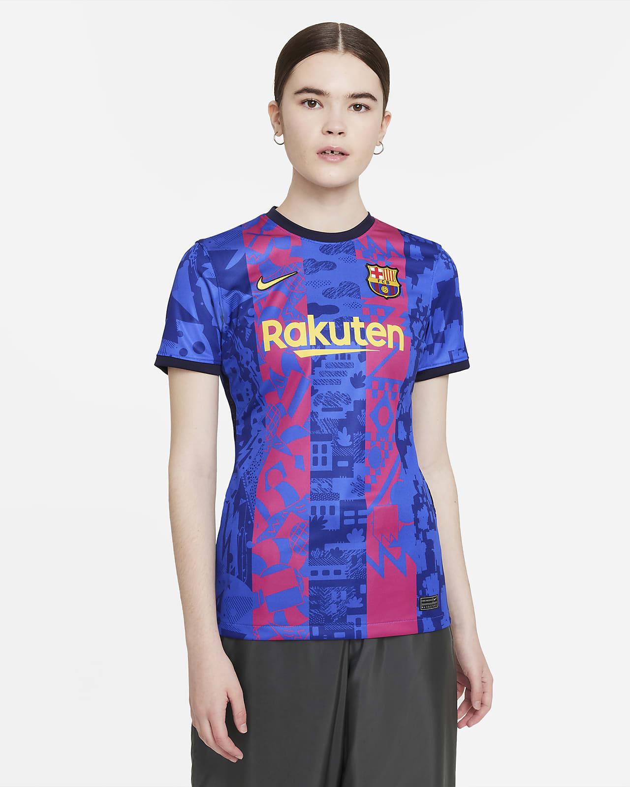 Jersey de fútbol Nike Dri-FIT FC Barcelona alternativo 2021/22 Stadium para mujer