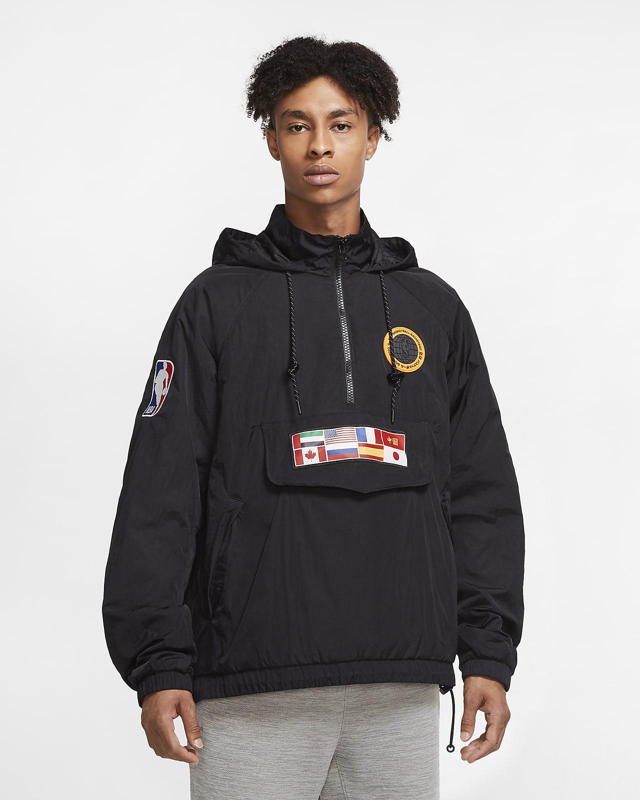 Team 31 Courtside Nike NBA-jakke til mænd