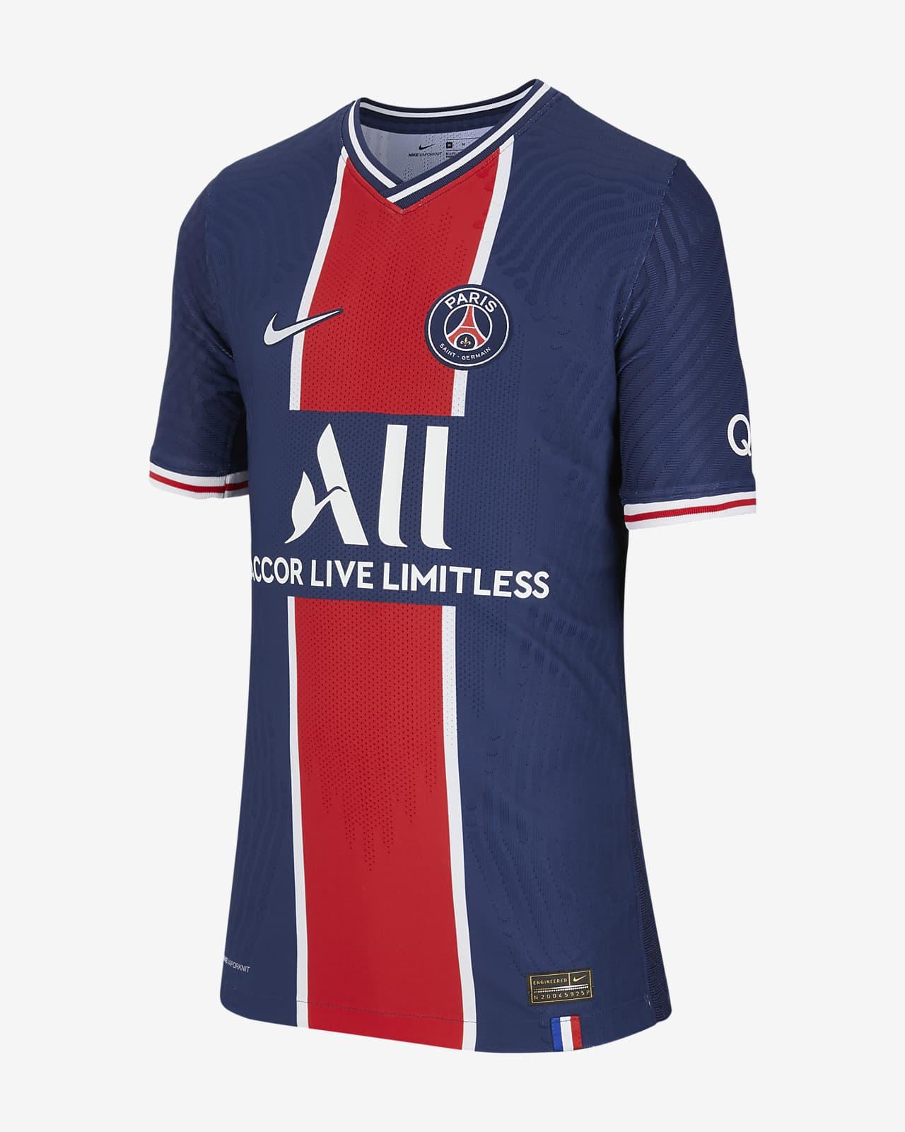 Paris Saint-Germain 2020/21 Vapor Match Home-fodboldtrøje til store børn