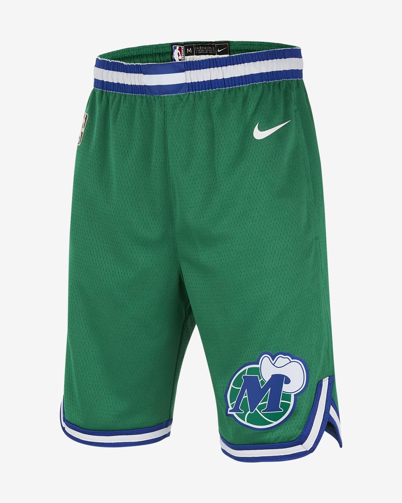 Short Nike NBA Swingman Dallas Mavericks Classic Edition pour Garçon plus âgé