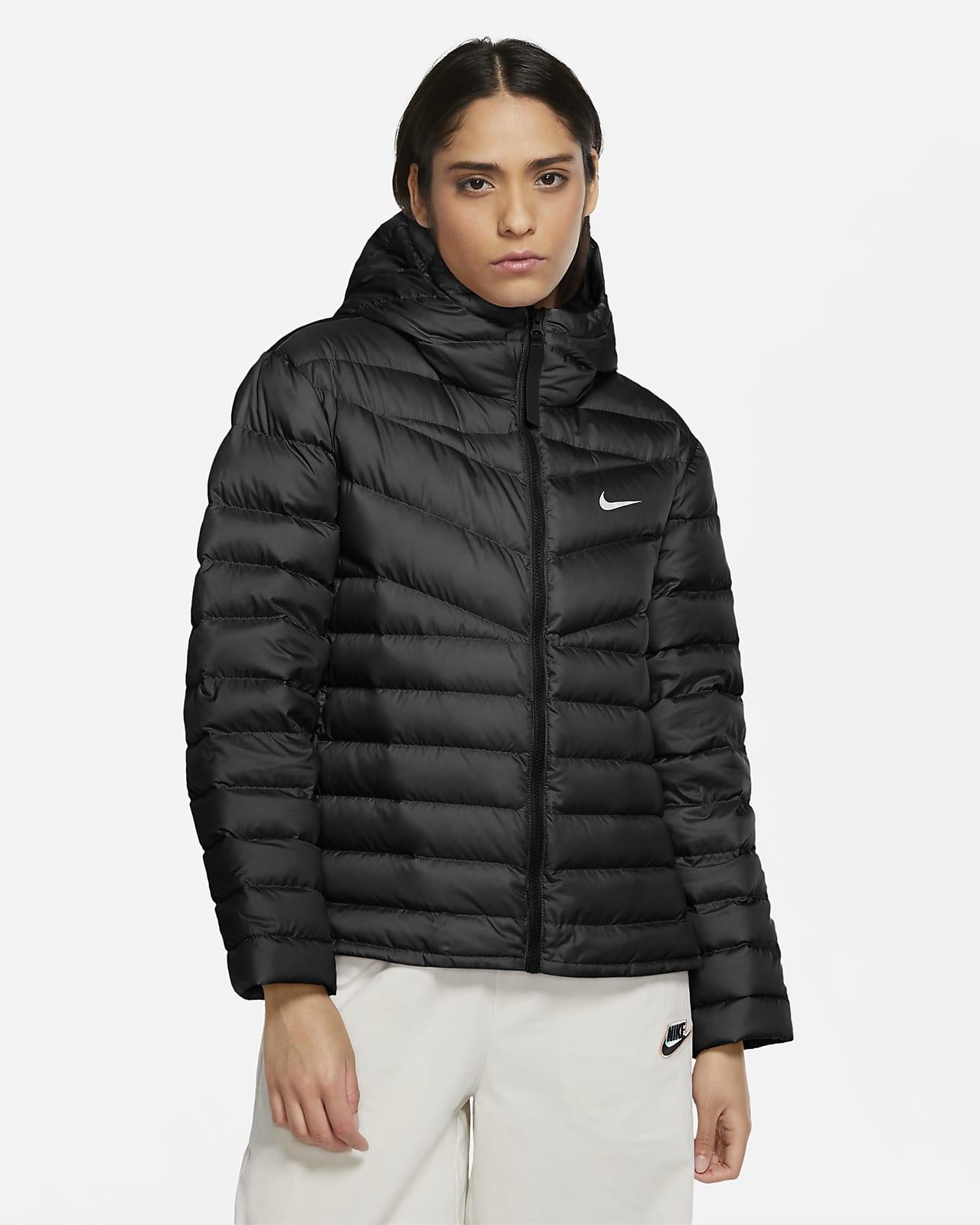 Nike Windrunner Down Jacket, dunjakke dame Svart