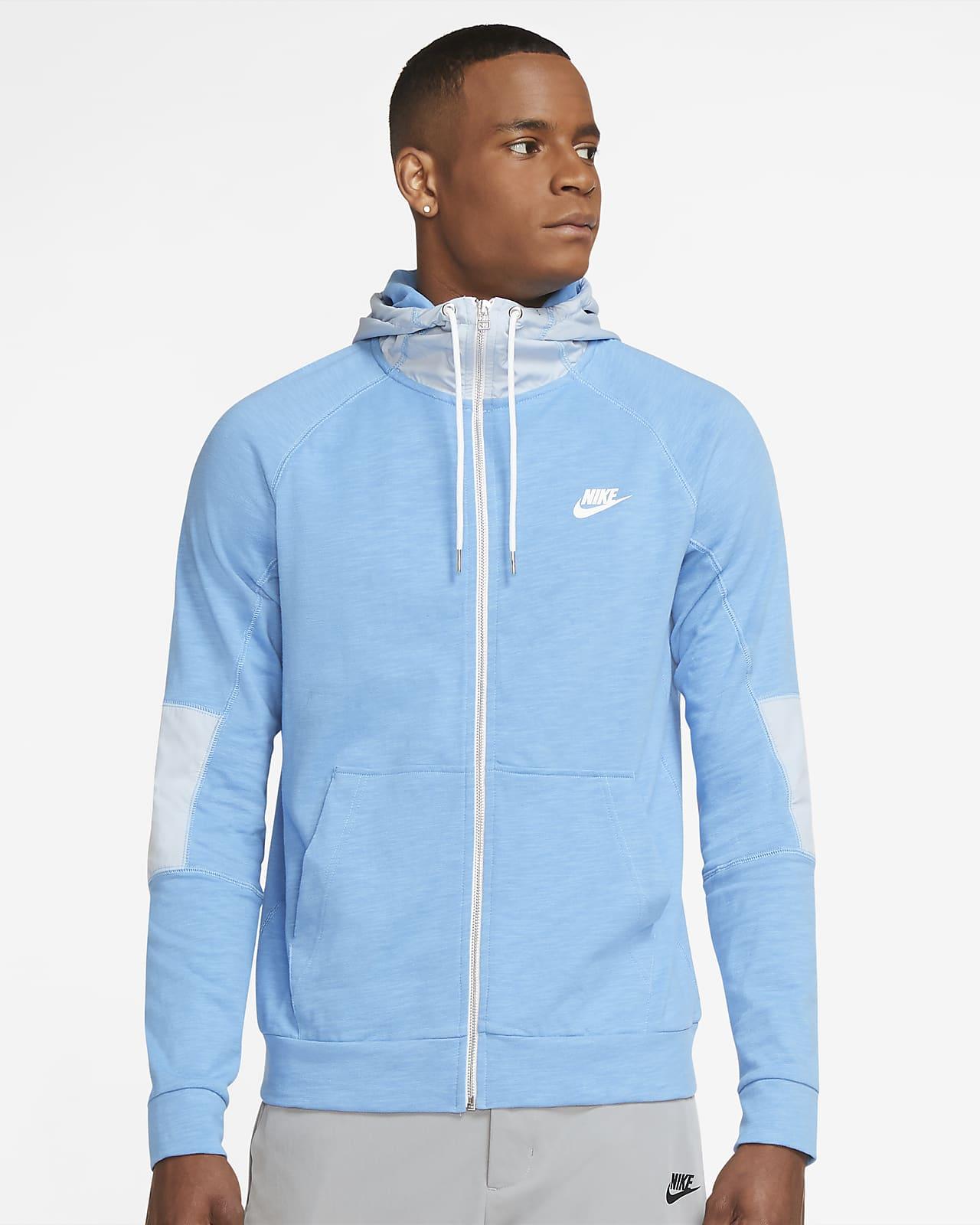 Lekka męska bluza z kapturem i zamkiem na całej długości Nike Sportswear Modern Essentials