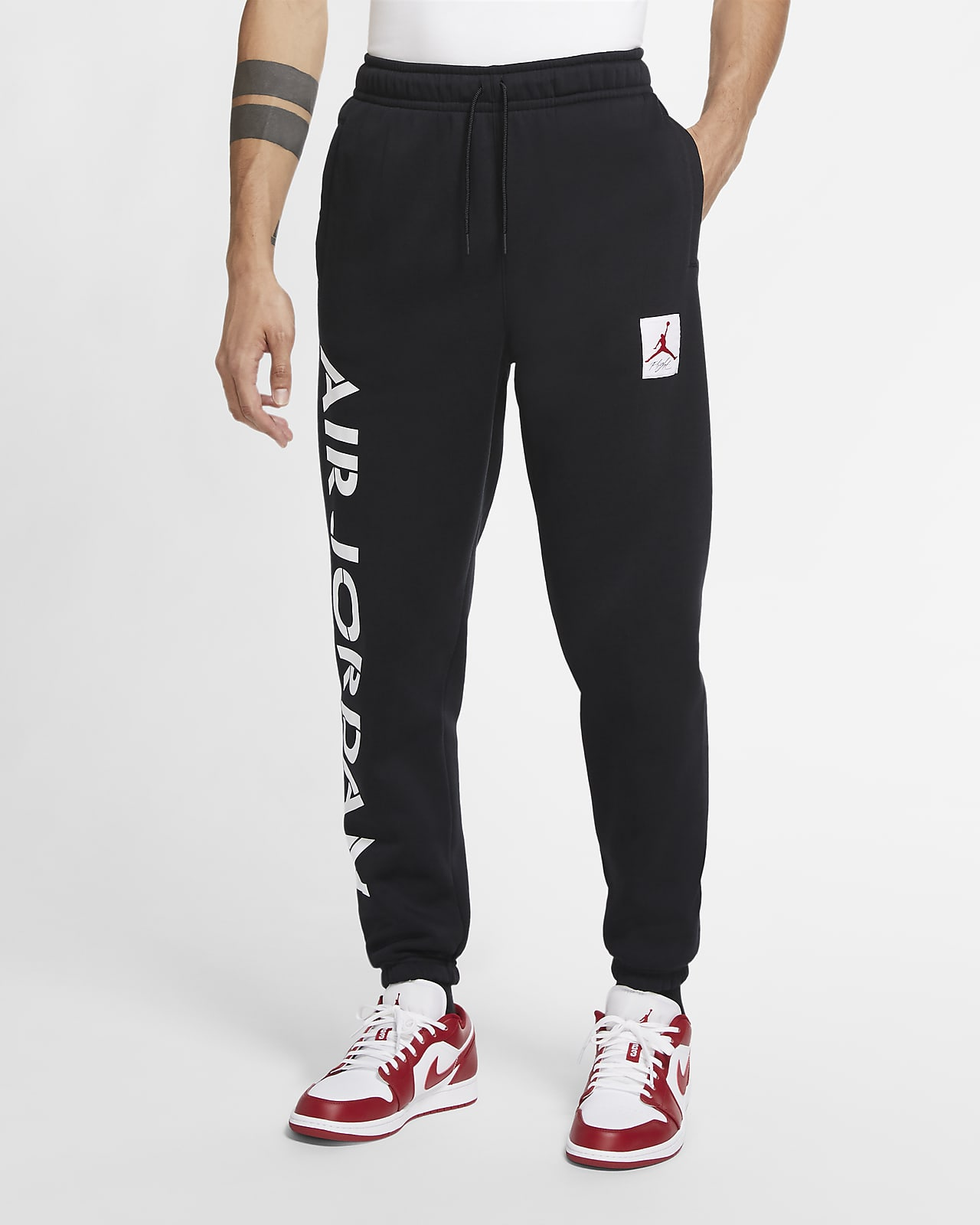 Pantalon en tissu Fleece à motif Jordan AJ14
