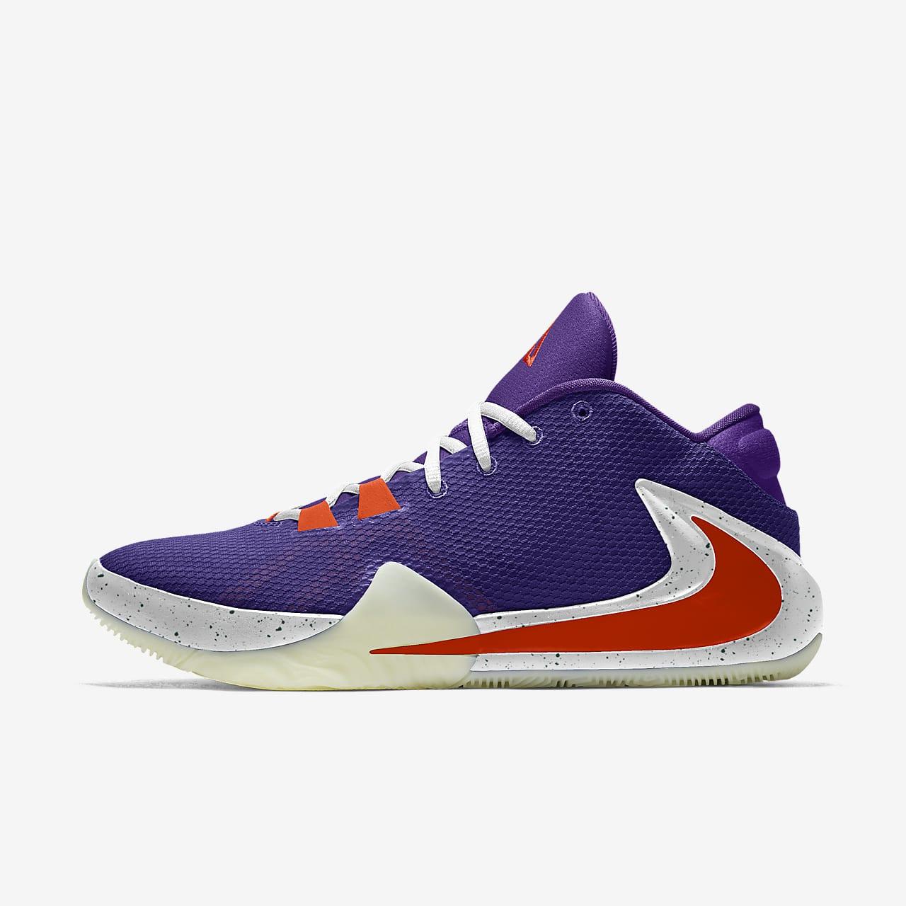 Calzado de básquetbol personalizado Nike Zoom Freak 1 By You