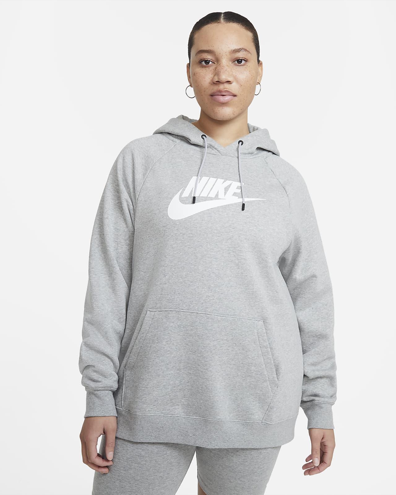 Sudadera con capucha para mujer Nike Sportswear Essential (talla grande)