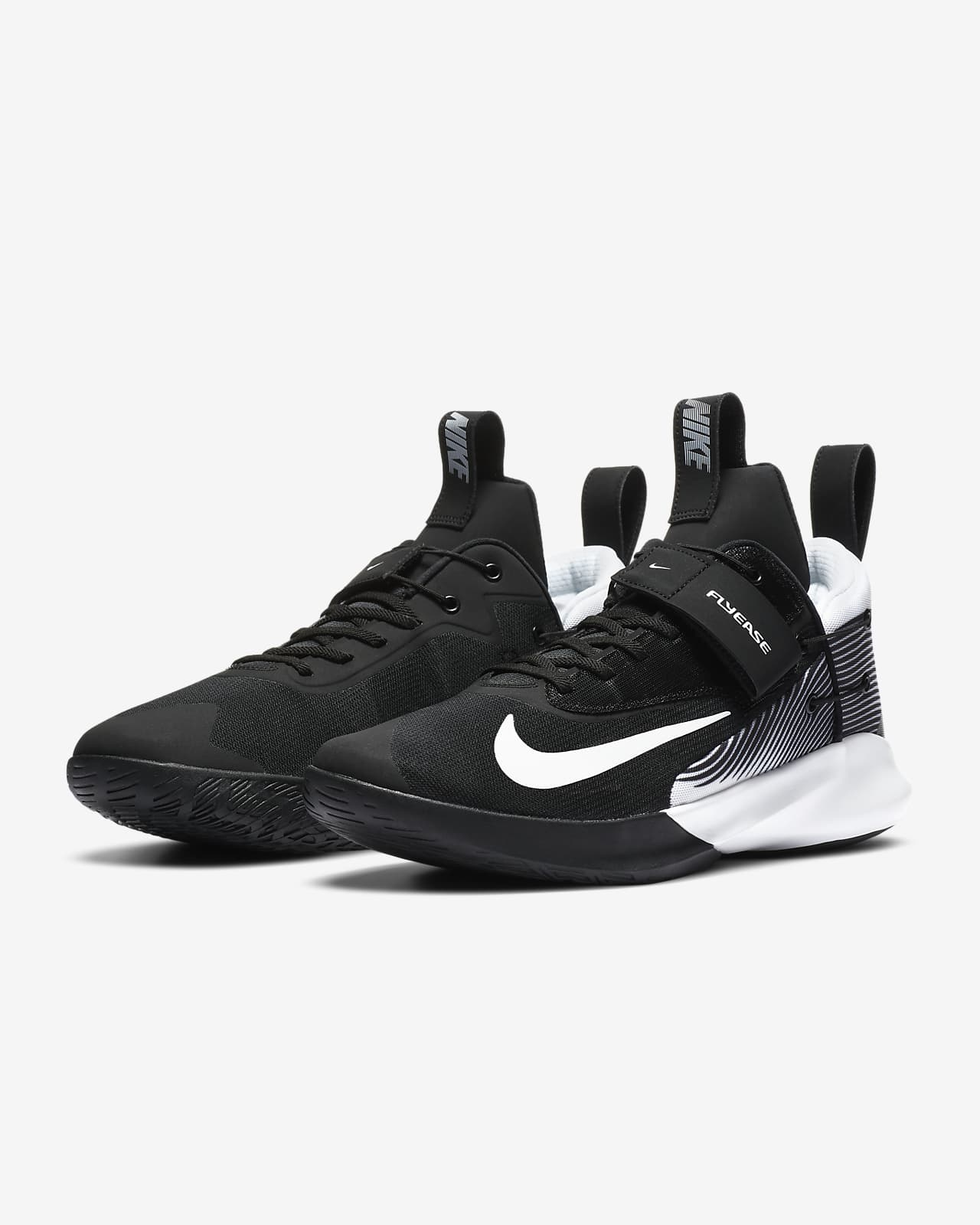 Nike Precision 4 FlyEase Basketball Shoe (Extra Wide)