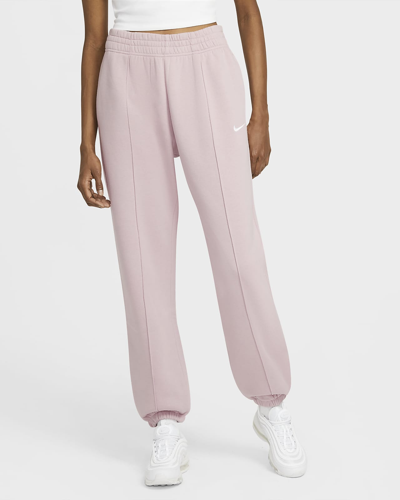 Pantaloni in fleece Nike Sportswear Essential - Donna