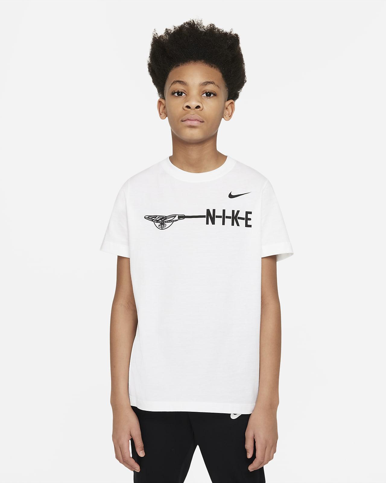 Nike Big Kids' (Boys') Lacrosse T-Shirt