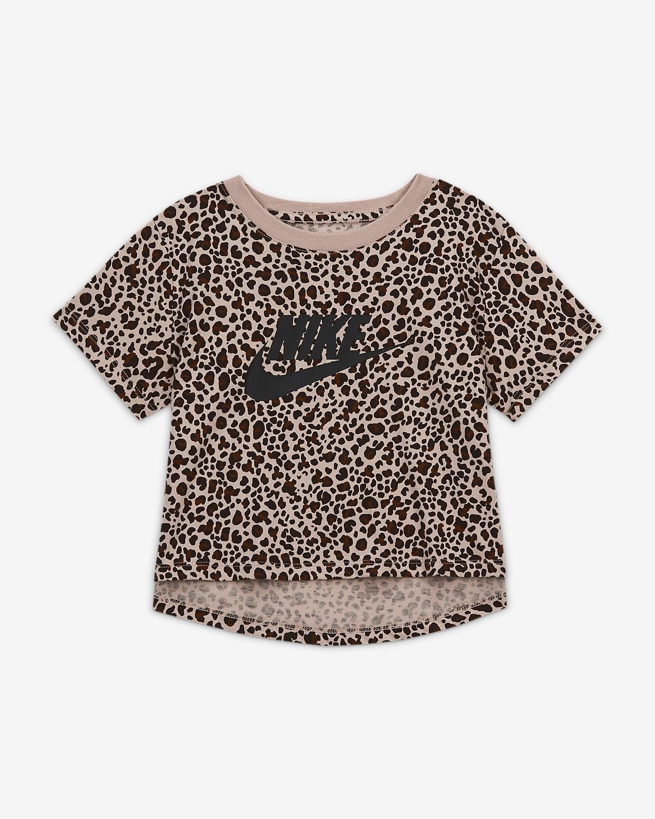 Nike Sportswear-crop top med print til store børn (piger)