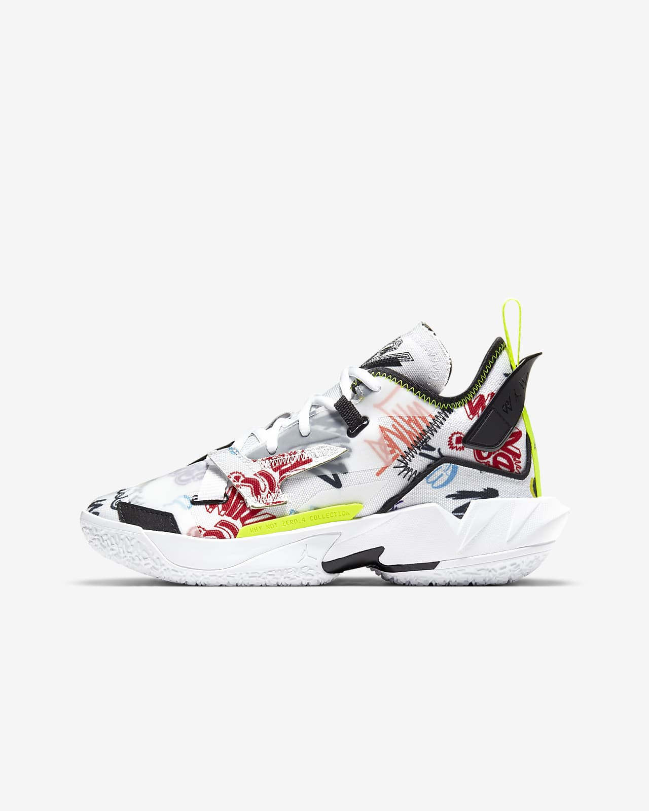 "Jordan ""Why Not?"" Zer0.4 Big Kids' Basketball Shoe"